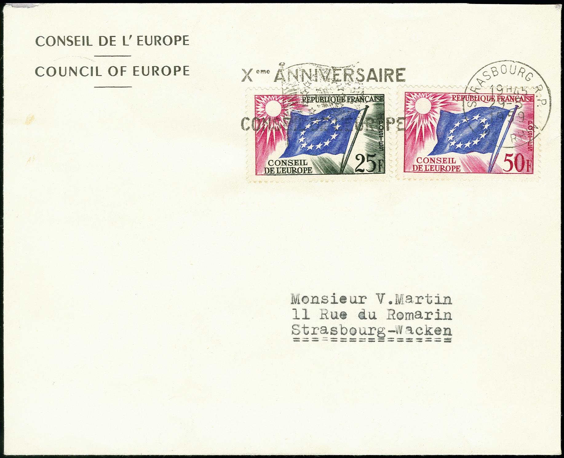 Lot 1335 - frankreich France - officials for the European Council -  Heinrich Koehler Auktionen 375rd Heinrich Köhler auction - Day 1
