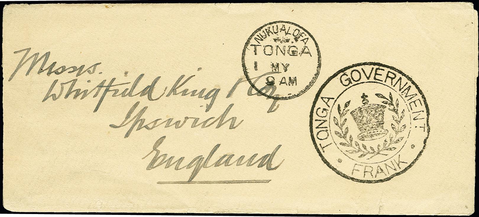 Lot 2089 - Britisch Commonwealth tonga -  Heinrich Koehler Auktionen 375rd Heinrich Köhler auction - Day 1