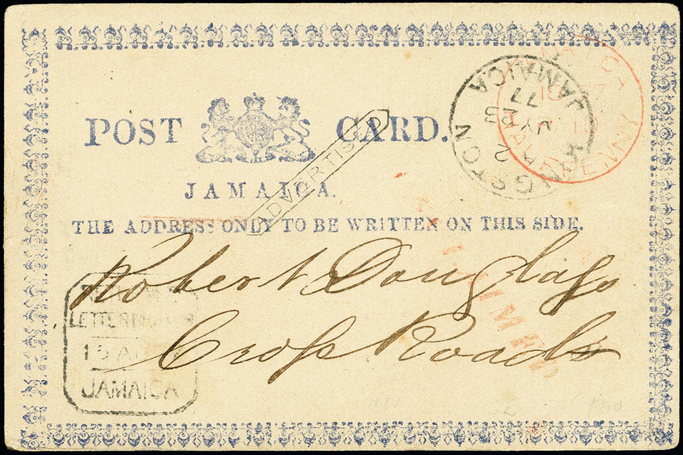 Lot 2050 - Britisch Commonwealth jamaica -  Heinrich Koehler Auktionen 375rd Heinrich Köhler auction - Day 1