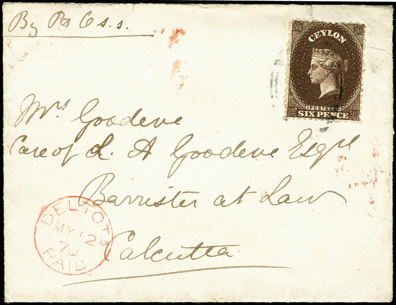 Lot 2004 - Britisch Commonwealth Ceylon -  Heinrich Koehler Auktionen 375rd Heinrich Köhler auction - Day 1