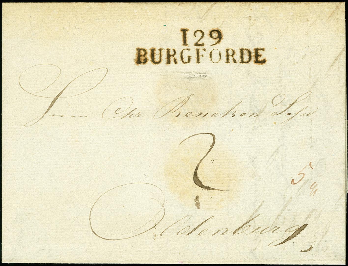 Lot 8099 - oldenburg Oldenburg - cancellations -  Heinrich Koehler Auktionen 375rd Heinrich Köhler auction - Day 5