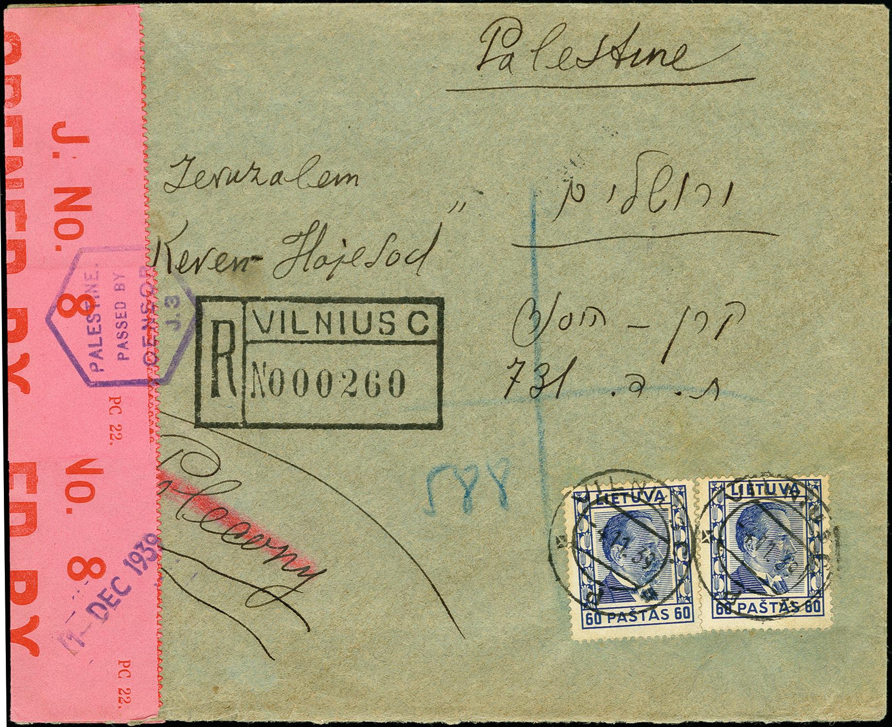 Lot 1732 - europa Lithuania -  Heinrich Koehler Auktionen 375rd Heinrich Köhler auction - Day 1