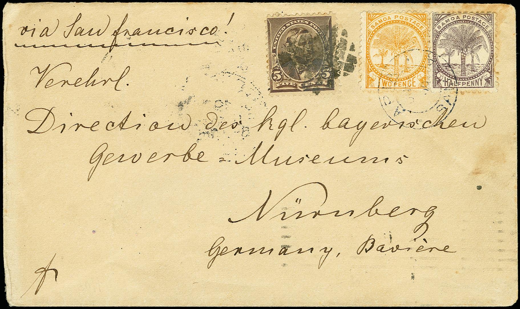 Lot 2067 - Britisch Commonwealth samoa -  Heinrich Koehler Auktionen 375rd Heinrich Köhler auction - Day 1