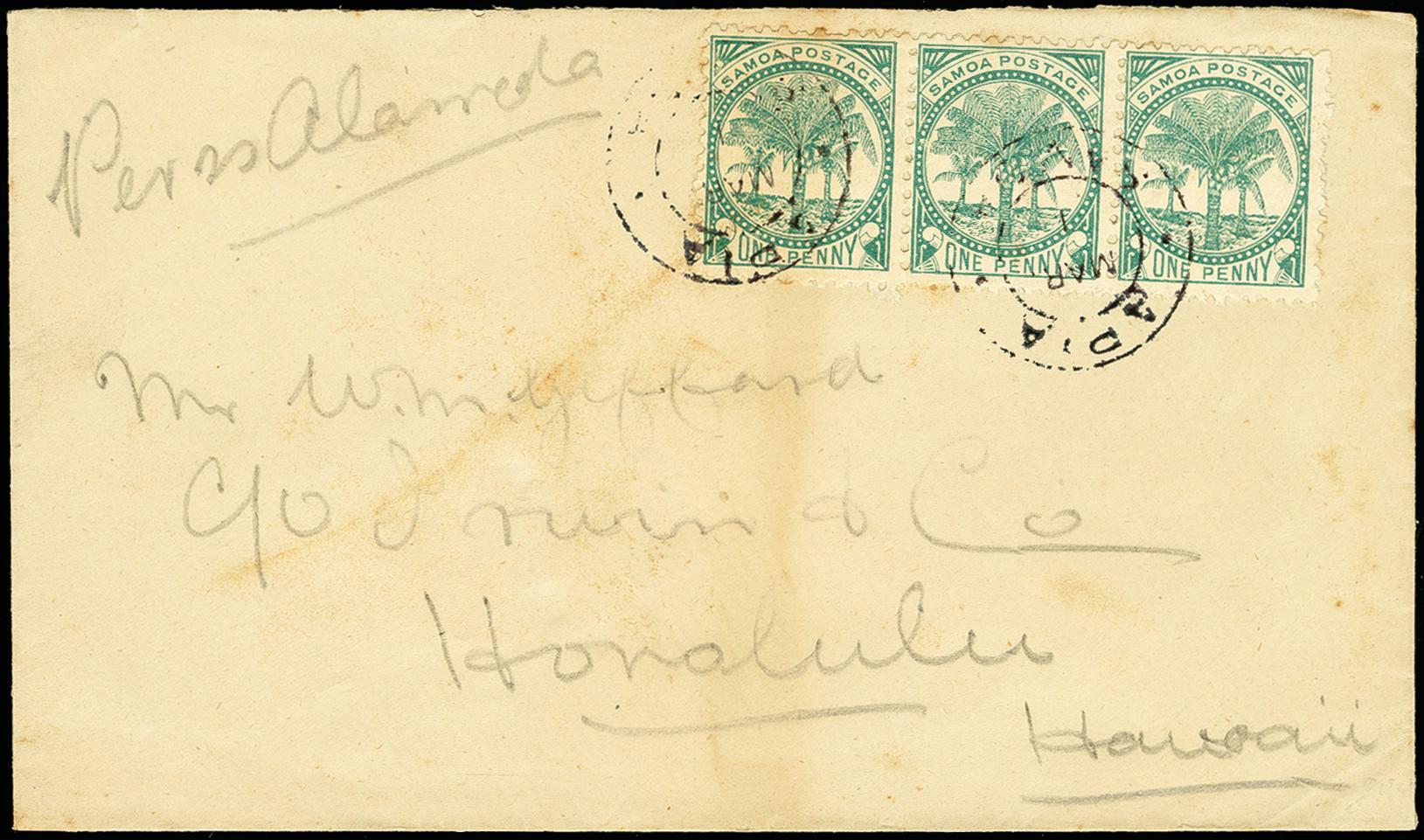 Lot 2069 - Britisch Commonwealth samoa -  Heinrich Koehler Auktionen 375rd Heinrich Köhler auction - Day 1