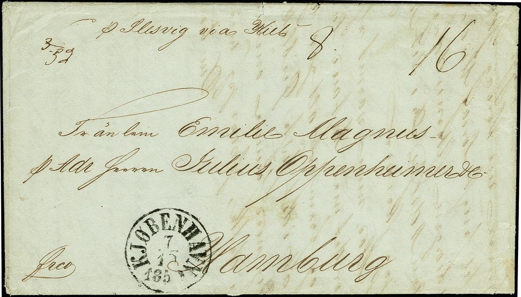 Lot 1225 - europa Denmark -  Heinrich Koehler Auktionen 375rd Heinrich Köhler auction - Day 1