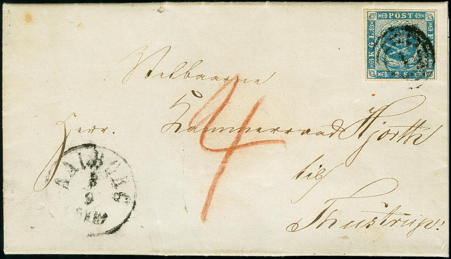 Lot 1199 - europa Denmark -  Heinrich Koehler Auktionen 375rd Heinrich Köhler auction - Day 1