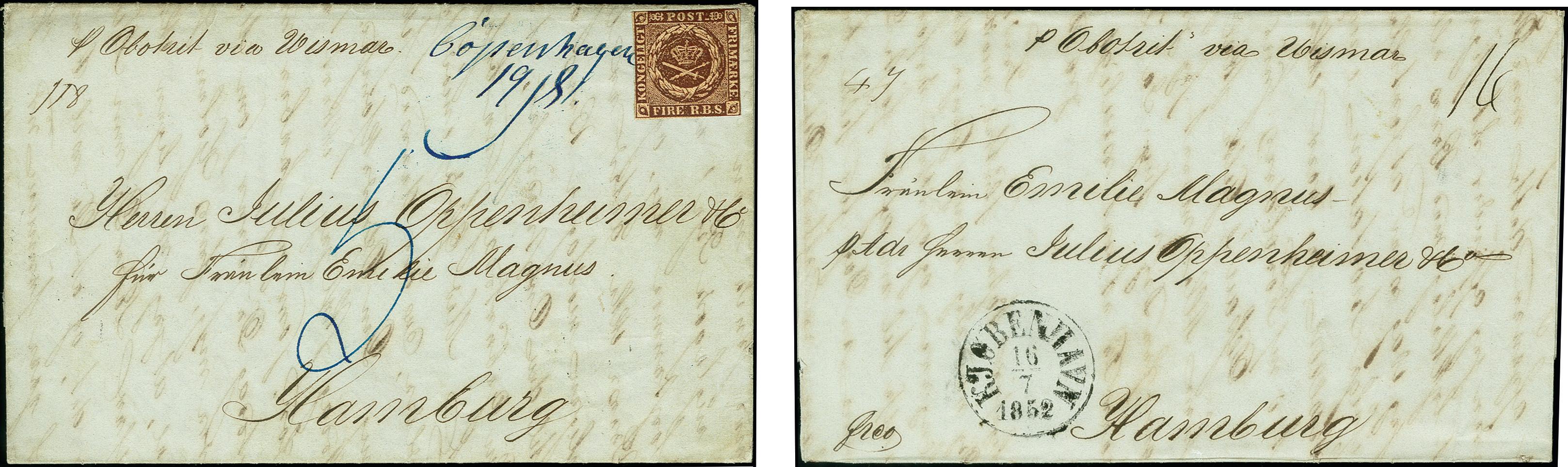 Lot 1227 - europa Denmark -  Heinrich Koehler Auktionen 375rd Heinrich Köhler auction - Day 1