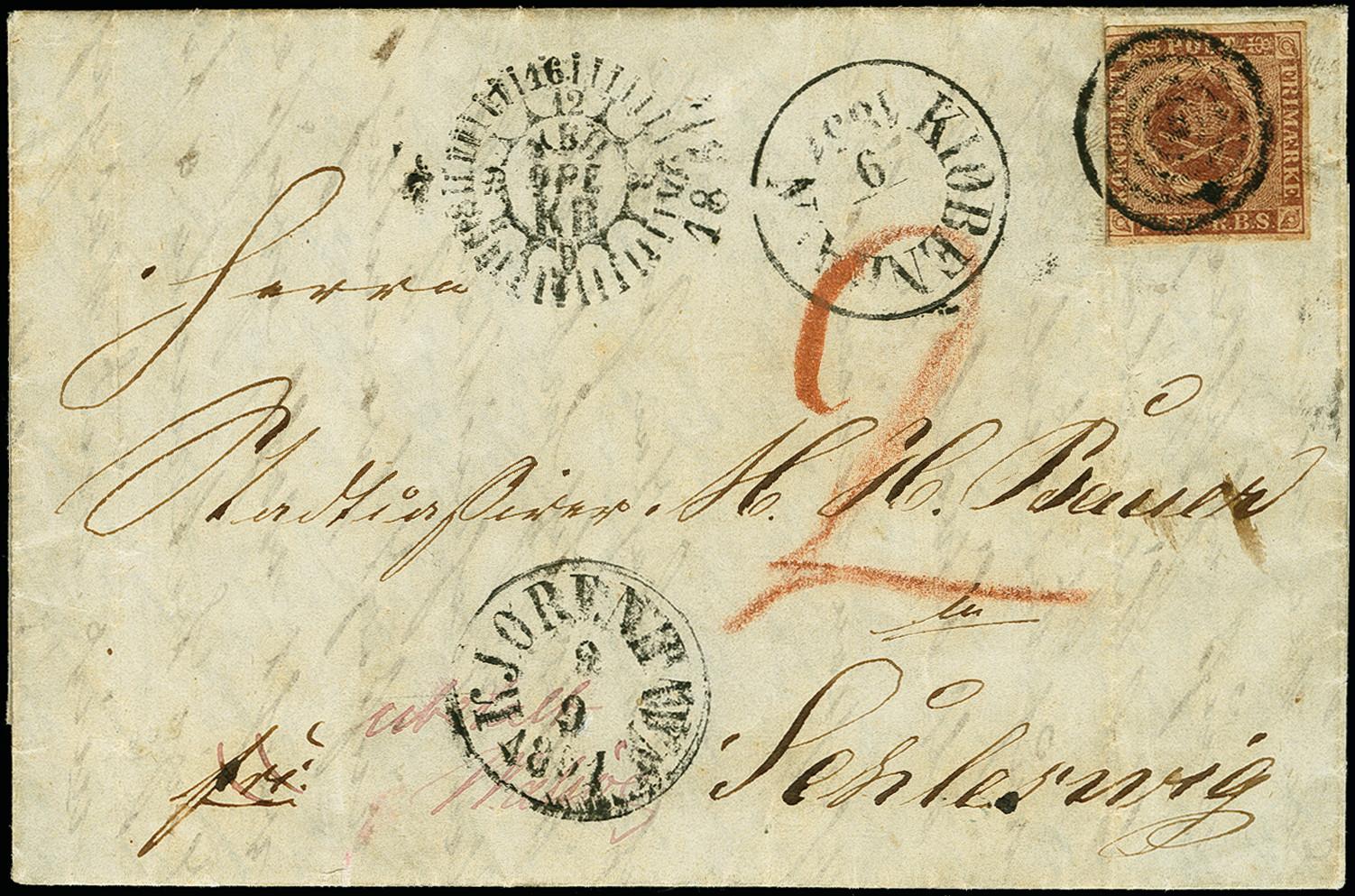 Lot 1203 - europa Denmark -  Heinrich Koehler Auktionen 375rd Heinrich Köhler auction - Day 1