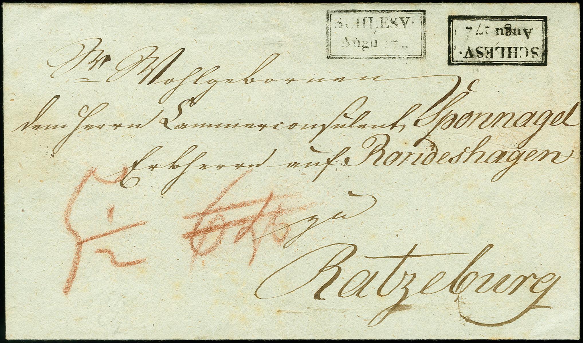 Lot 9015 - Altdeutsche Staaten schleswig-holstein -  Heinrich Koehler Auktionen 375rd Heinrich Köhler auction - Day 5