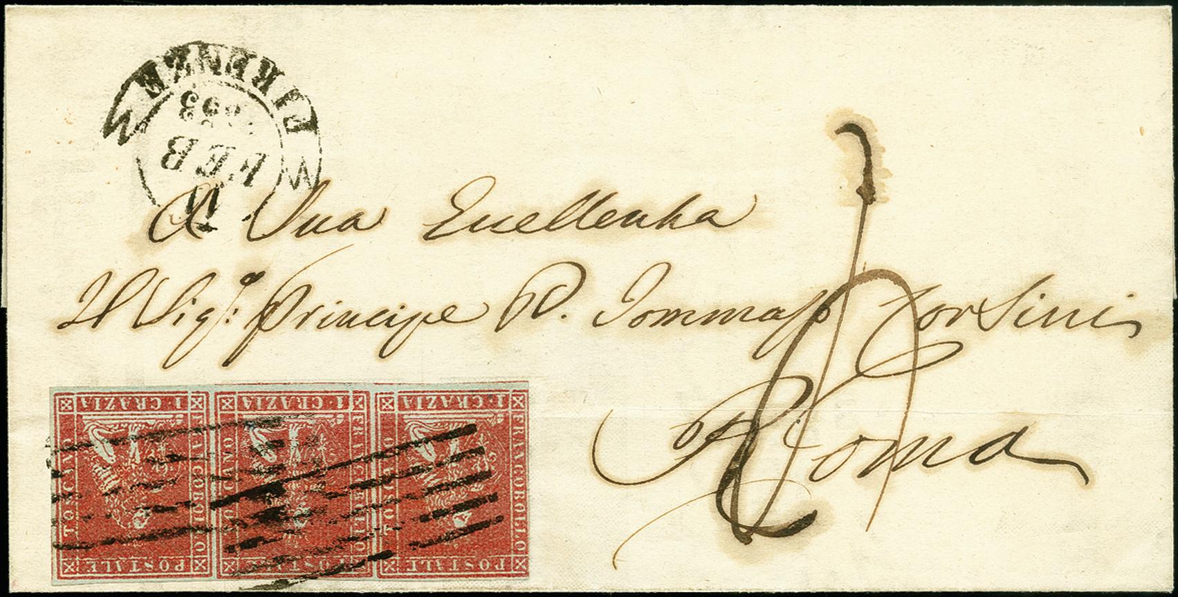 Lot 1706 - altitalienische staaten toscana -  Heinrich Koehler Auktionen 375rd Heinrich Köhler auction - Day 1