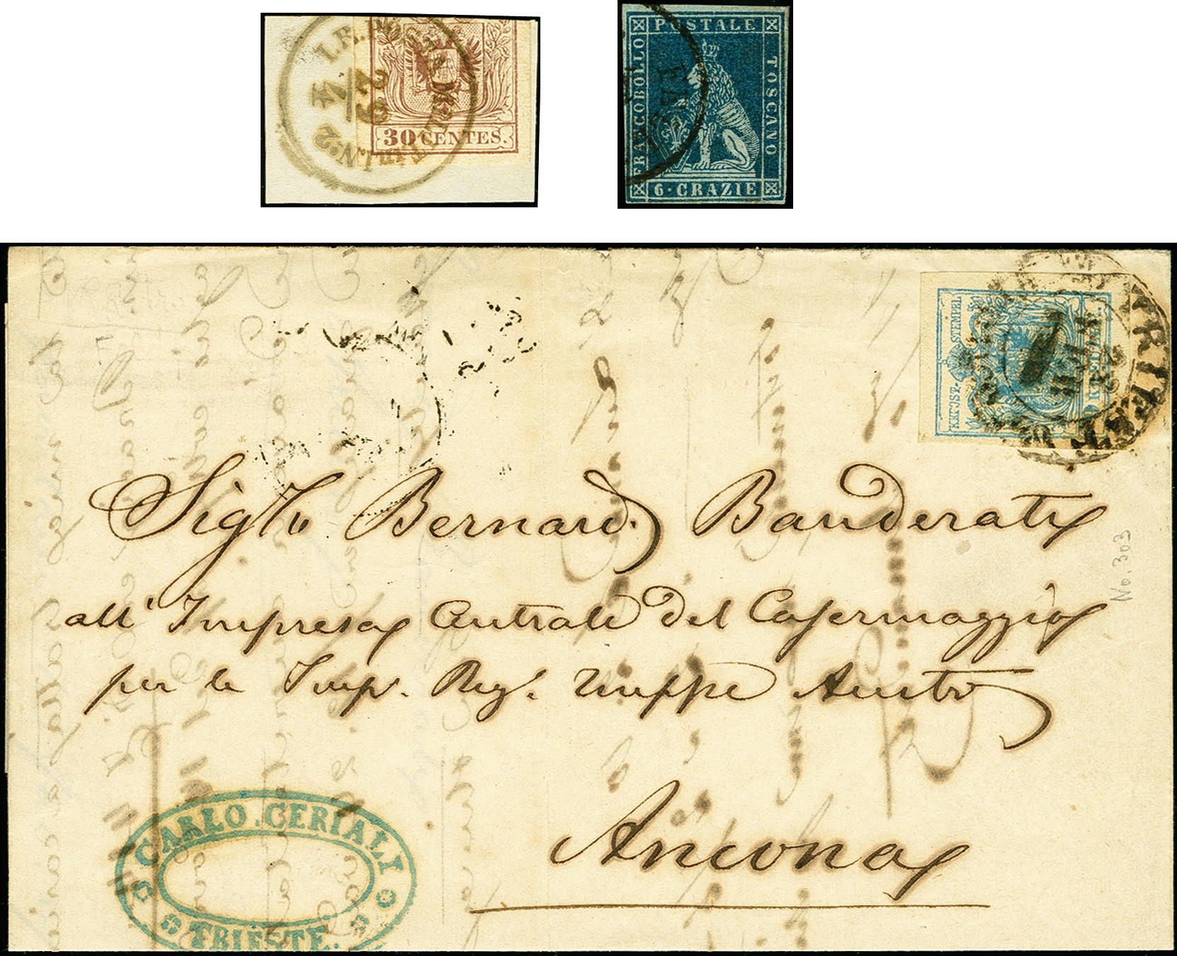 Lot 1117 - österreich lombardy venetia -  Heinrich Koehler Auktionen 375rd Heinrich Köhler auction - Day 1