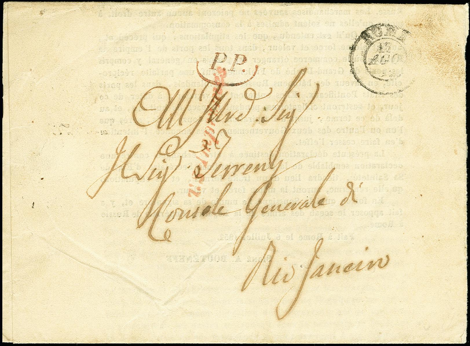 Lot 1566 - übersee brazil -  Heinrich Koehler Auktionen 375rd Heinrich Köhler auction - Day 1