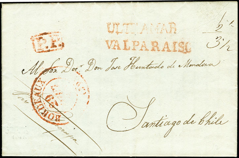 Lot 1569 - übersee Chile -  Heinrich Koehler Auktionen 375rd Heinrich Köhler auction - Day 1
