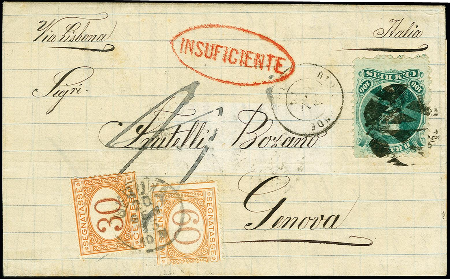 Lot 1561 - übersee brazil -  Heinrich Koehler Auktionen 375rd Heinrich Köhler auction - Day 1
