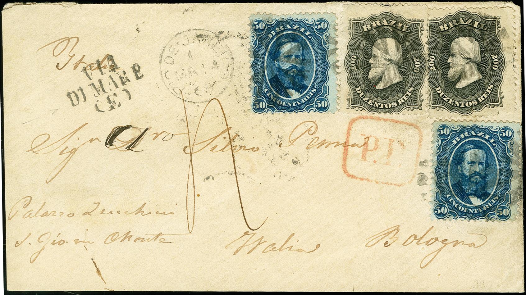 Lot 1563 - übersee brazil -  Heinrich Koehler Auktionen 375rd Heinrich Köhler auction - Day 1
