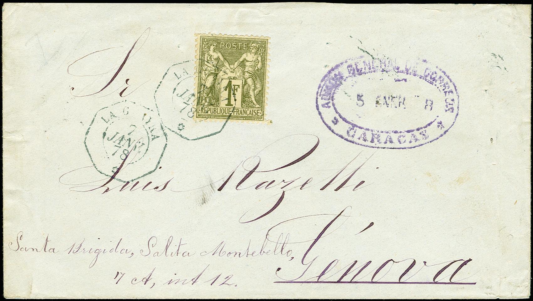 Lot 1642 - übersee Venezuela -  Heinrich Koehler Auktionen 375rd Heinrich Köhler auction - Day 1