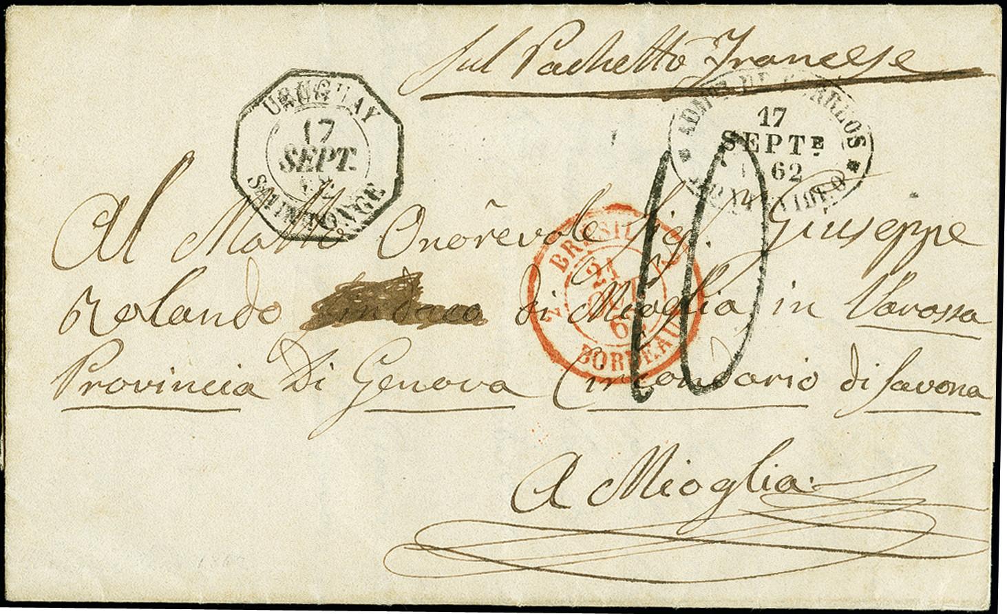 Lot 1620 - übersee Uruguay -  Heinrich Koehler Auktionen 375rd Heinrich Köhler auction - Day 1
