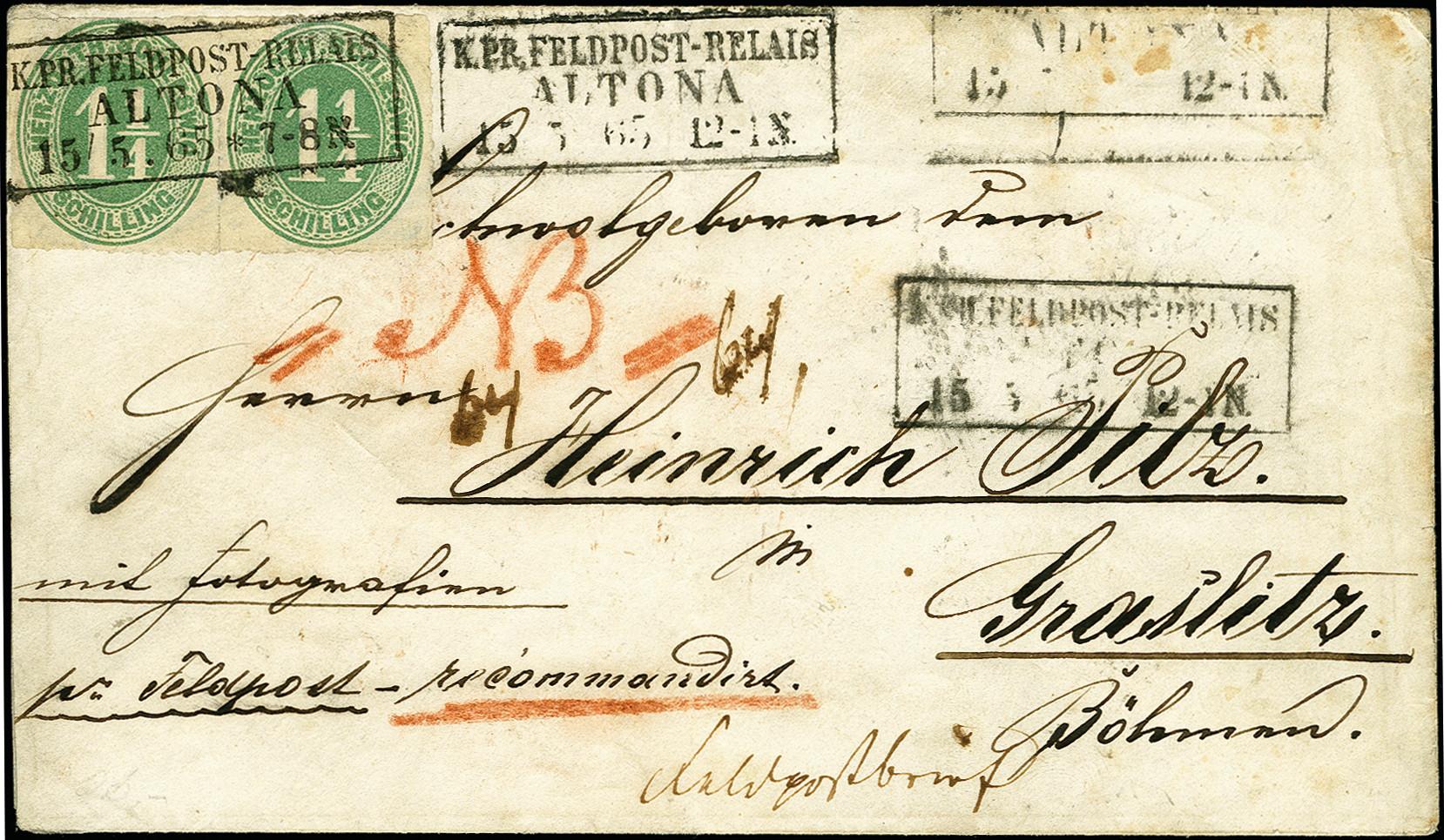 Lot 9116 - Altdeutsche Staaten schleswig-holstein -  Heinrich Koehler Auktionen 375rd Heinrich Köhler auction - Day 5