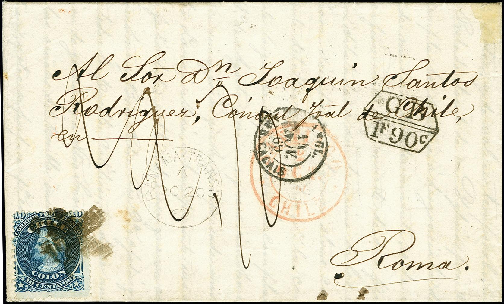 Lot 1575 - übersee Chile -  Heinrich Koehler Auktionen 375rd Heinrich Köhler auction - Day 1