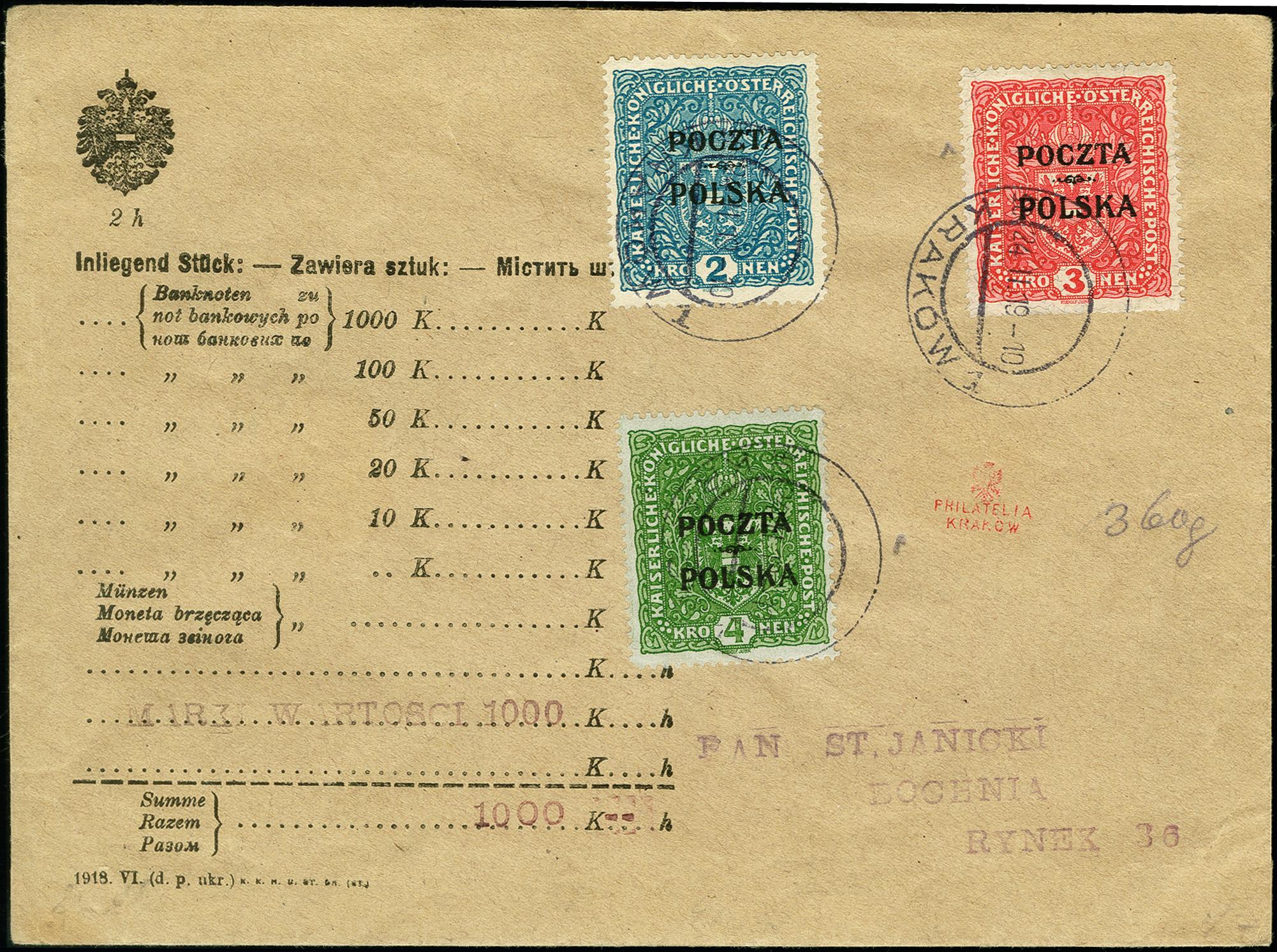 Lot 1757 - europa Poland -  Heinrich Koehler Auktionen 375rd Heinrich Köhler auction - Day 1