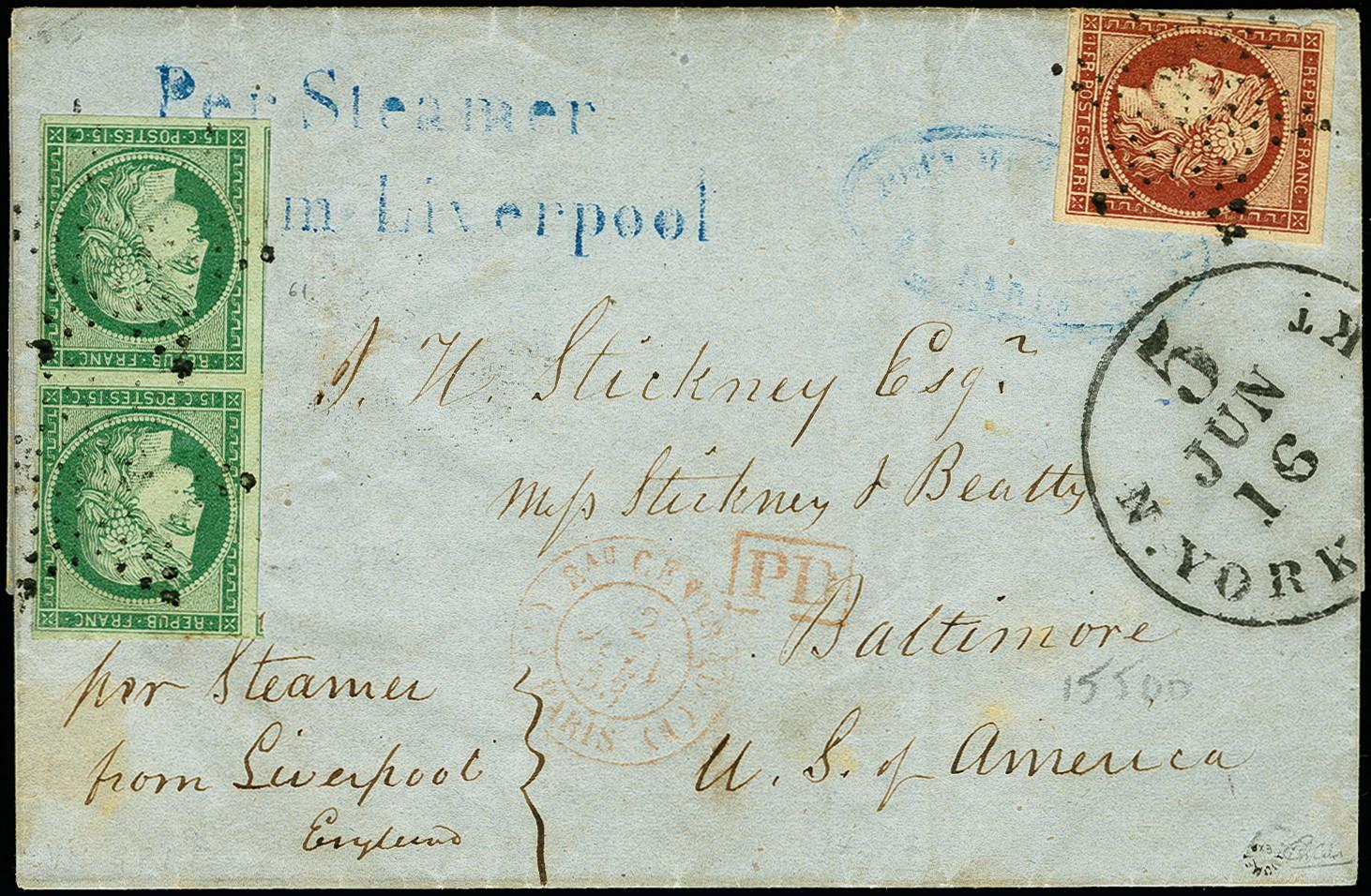 Lot 1274 - europa France -  Heinrich Koehler Auktionen 375rd Heinrich Köhler auction - Day 1