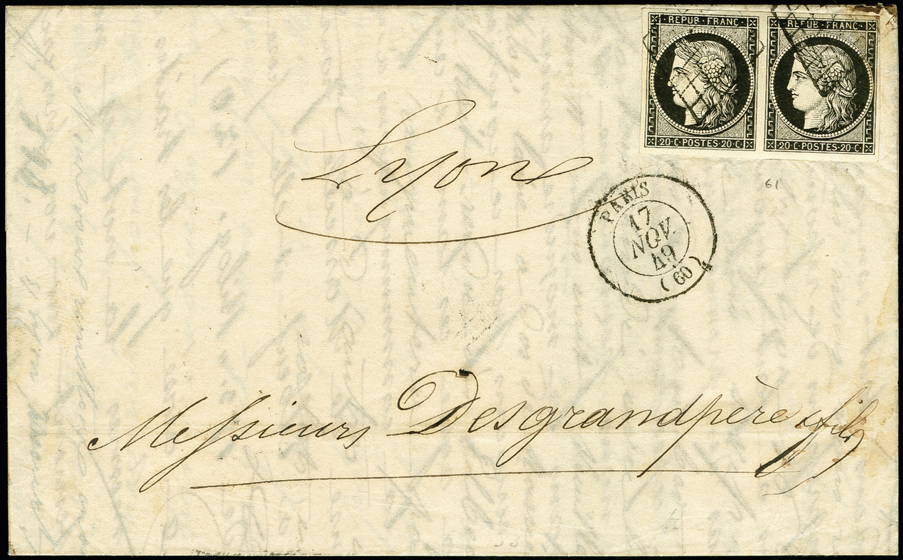 Lot 1275 - europa France -  Heinrich Koehler Auktionen 375rd Heinrich Köhler auction - Day 1