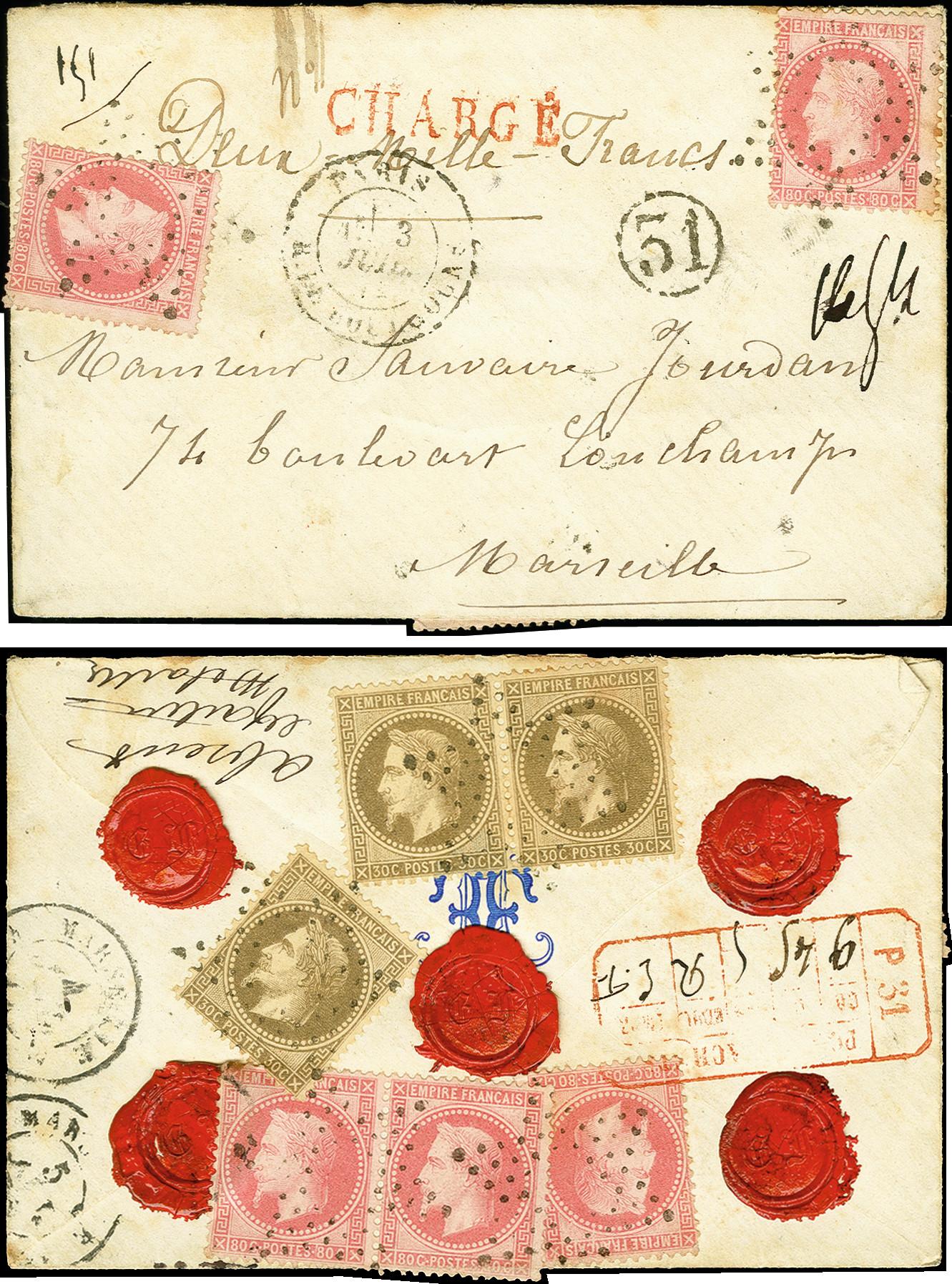 Lot 1304 - europa France -  Heinrich Koehler Auktionen 375rd Heinrich Köhler auction - Day 1