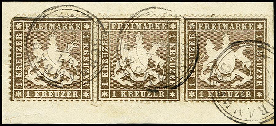 Lot 4449 - Altdeutsche Staaten Wurttemberg -  Heinrich Koehler Auktionen 375rd Heinrich Köhler auction - Day 5