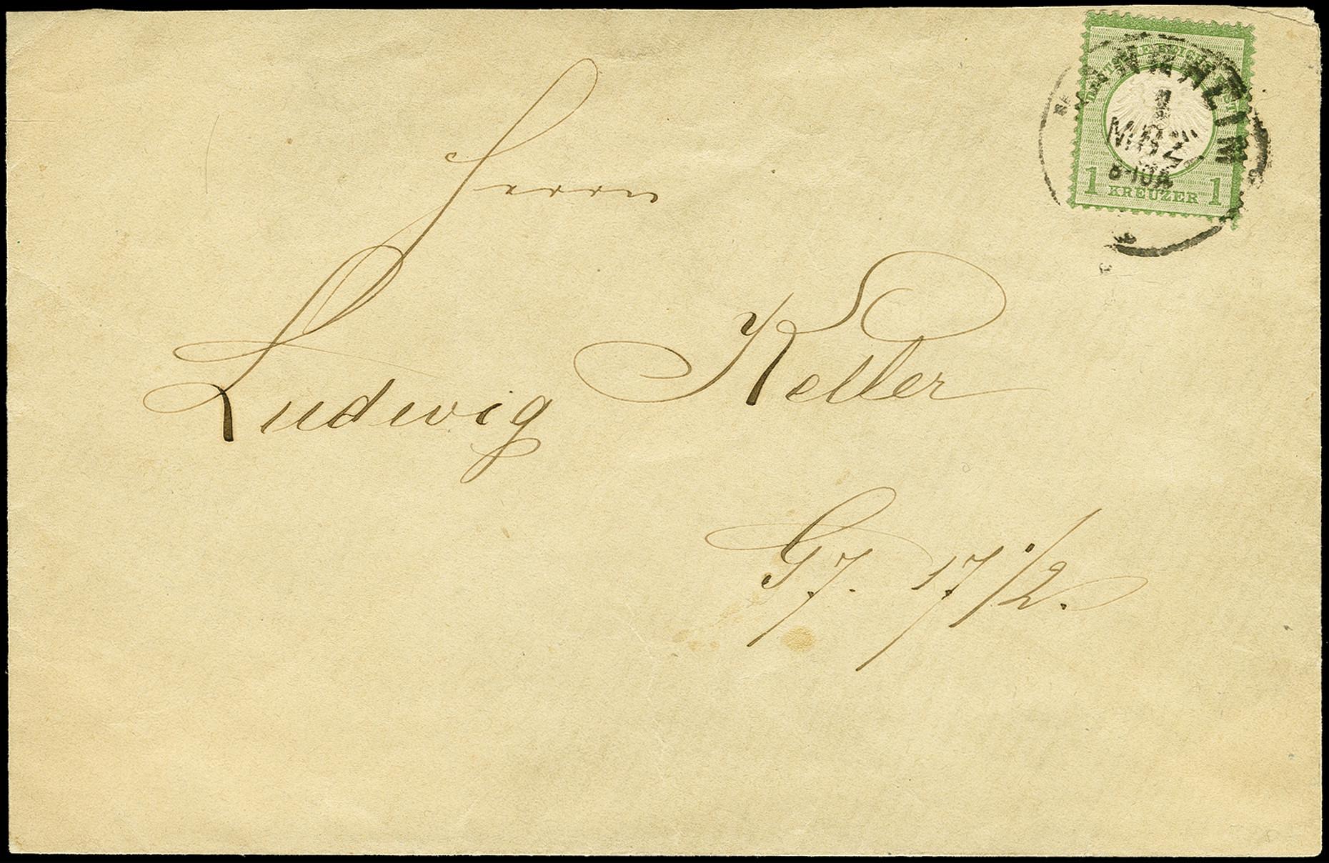 Lot 2435 - Main catalogue German Empire -  Heinrich Koehler Auktionen 375rd Heinrich Köhler auction - Day 2