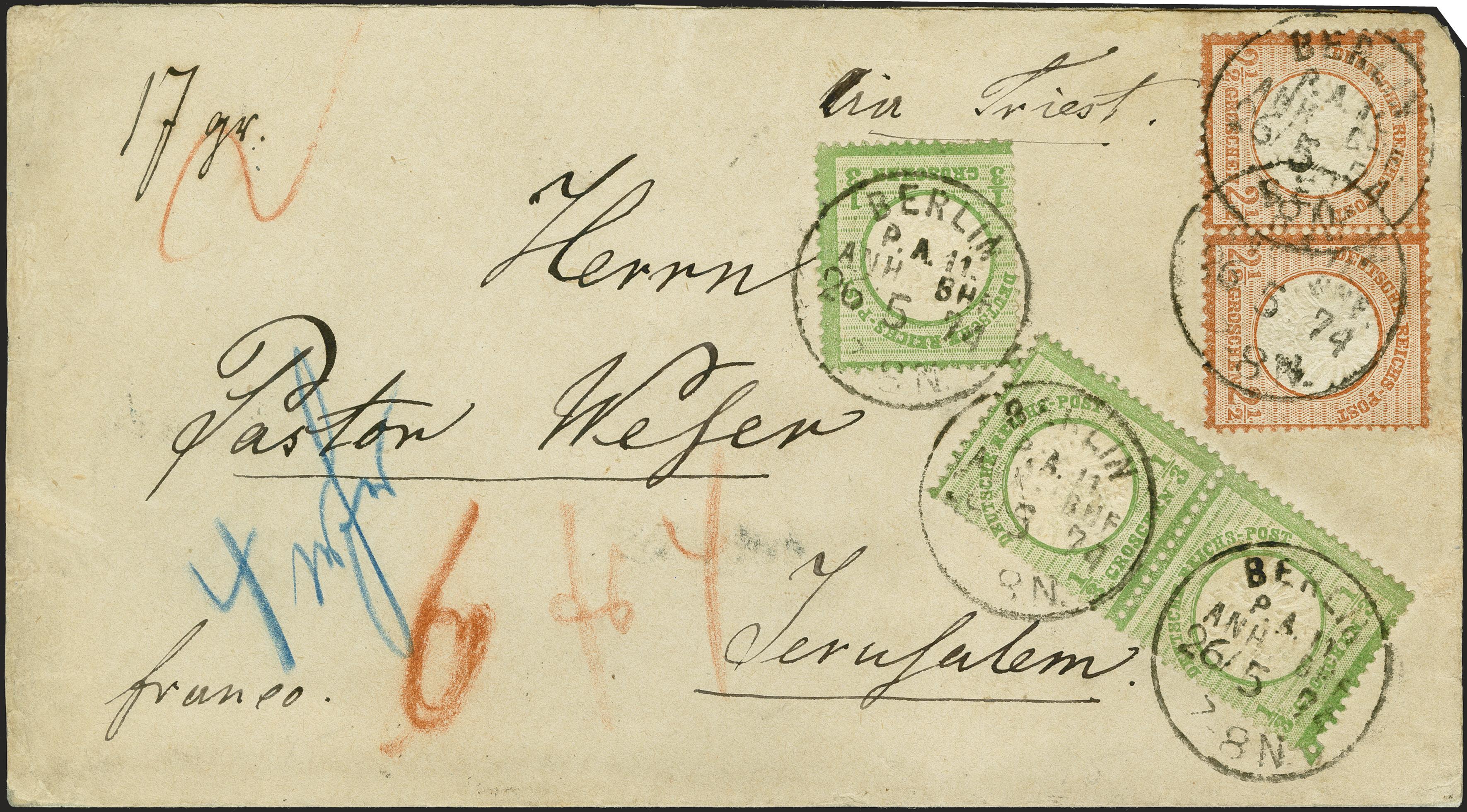 Lot 260 - Main catalogue German Empire -  Heinrich Koehler Auktionen 375rd Heinrich Köhler auction - Day 6