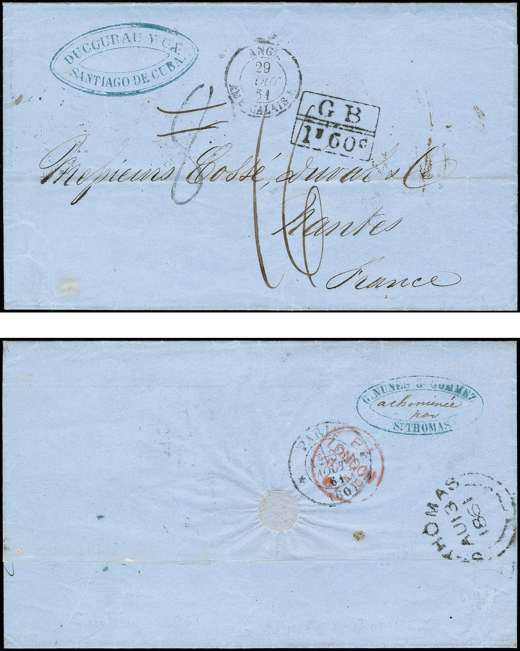 Lot 1257 - europa danish west indies -  Heinrich Koehler Auktionen 375rd Heinrich Köhler auction - Day 1