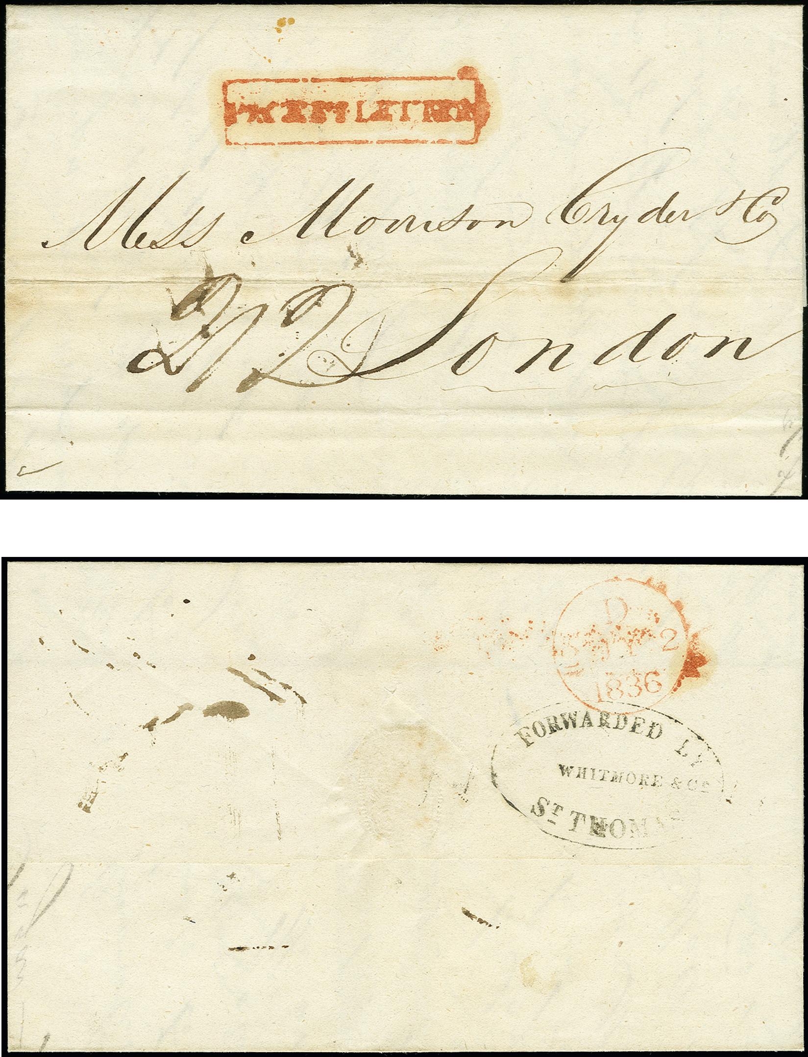 Lot 1261 - europa danish west indies -  Heinrich Koehler Auktionen 375rd Heinrich Köhler auction - Day 1