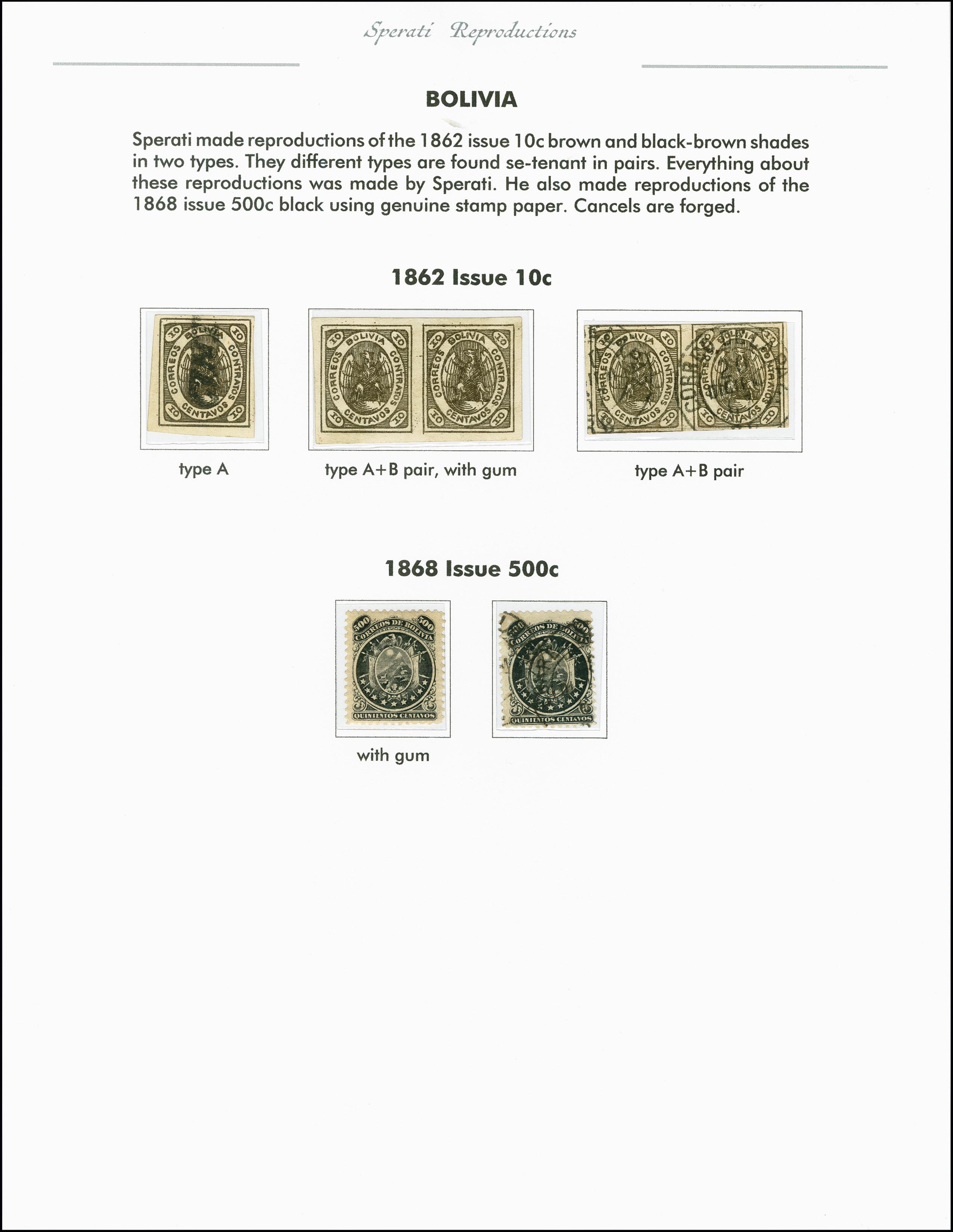 Lot 2223 - übersee bolivia -  Heinrich Koehler Auktionen 375rd Heinrich Köhler auction - Day 1