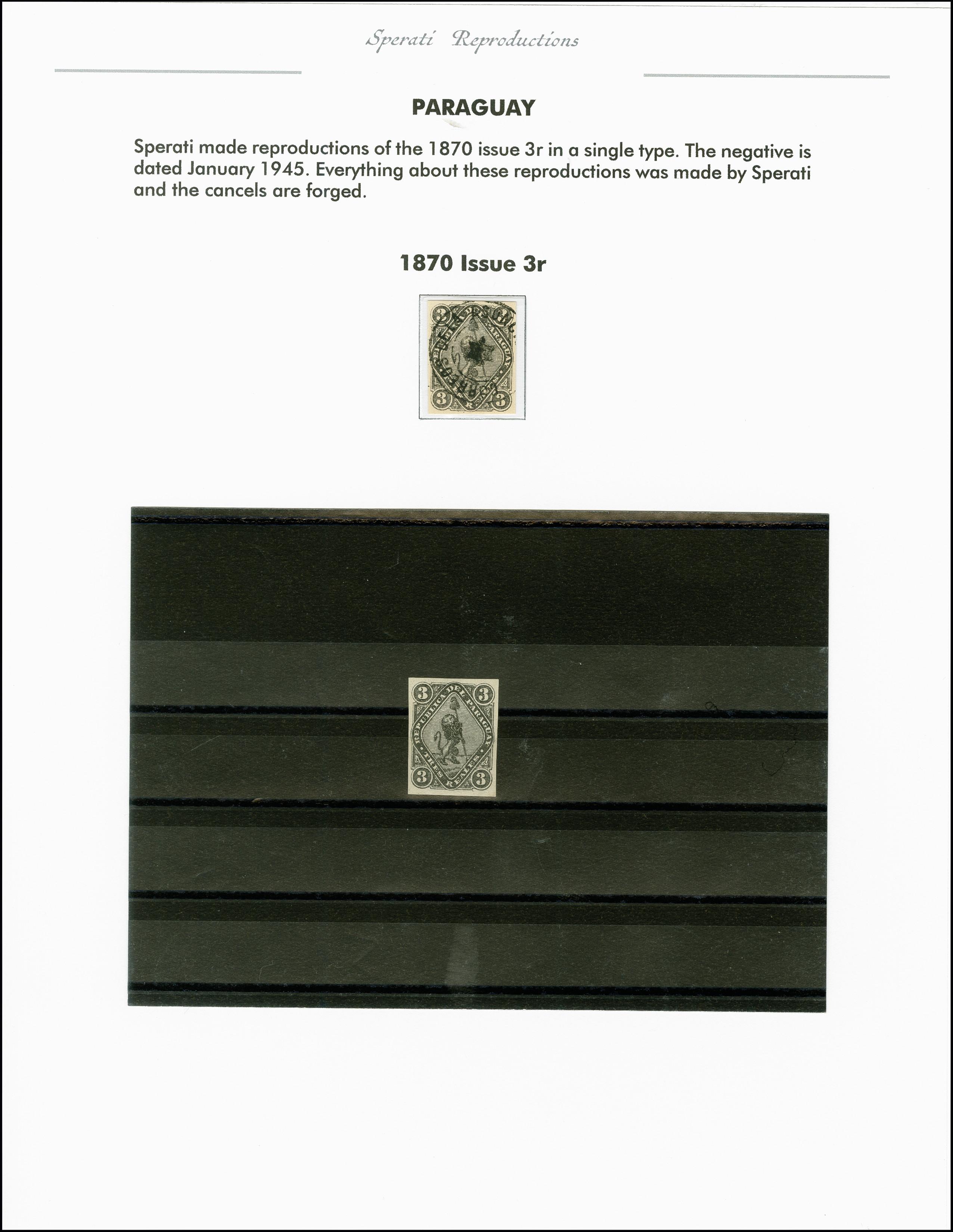 Lot 2230 - übersee Paraguay -  Heinrich Koehler Auktionen 375rd Heinrich Köhler auction - Day 1