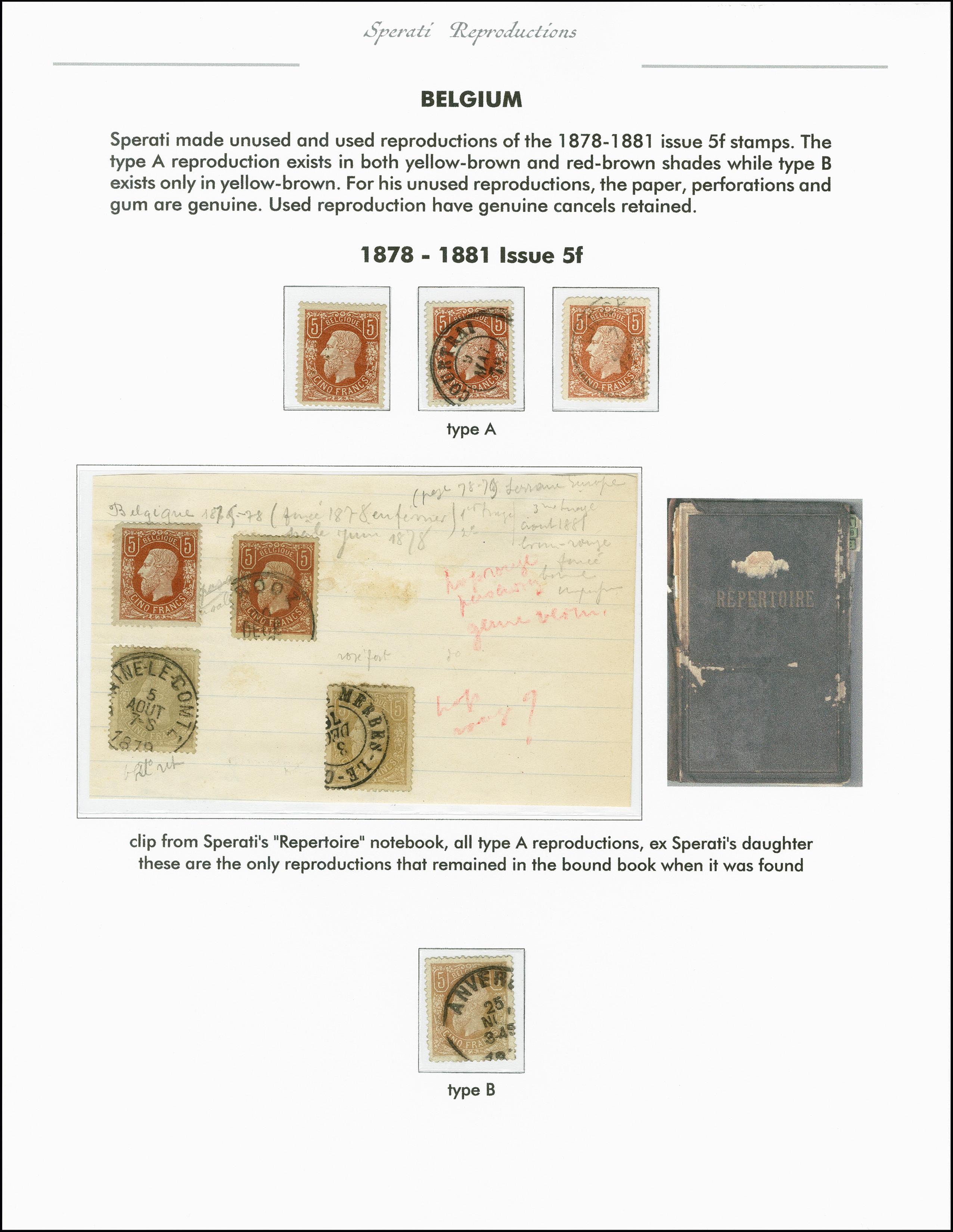 Lot 2197 - europa Belgium -  Heinrich Koehler Auktionen 375rd Heinrich Köhler auction - Day 1