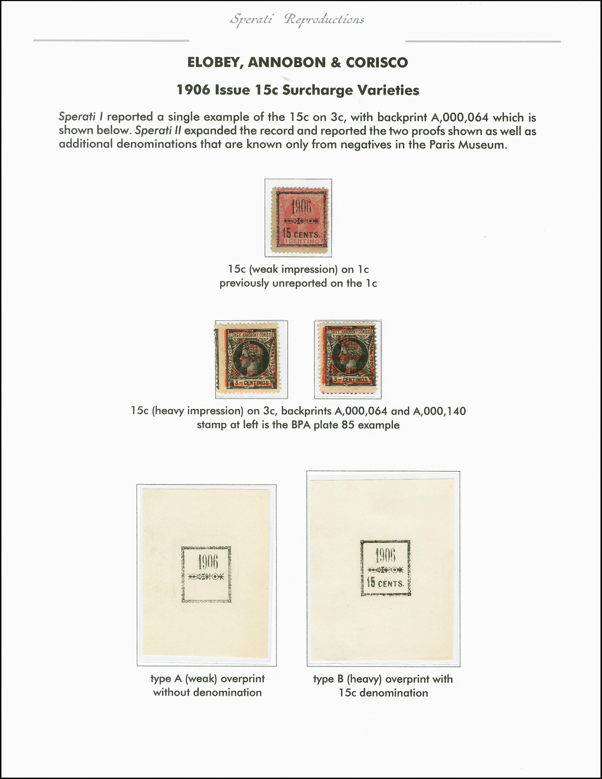 Lot 2214 - spanische kolonien elobey -  Heinrich Koehler Auktionen 375rd Heinrich Köhler auction - Day 1