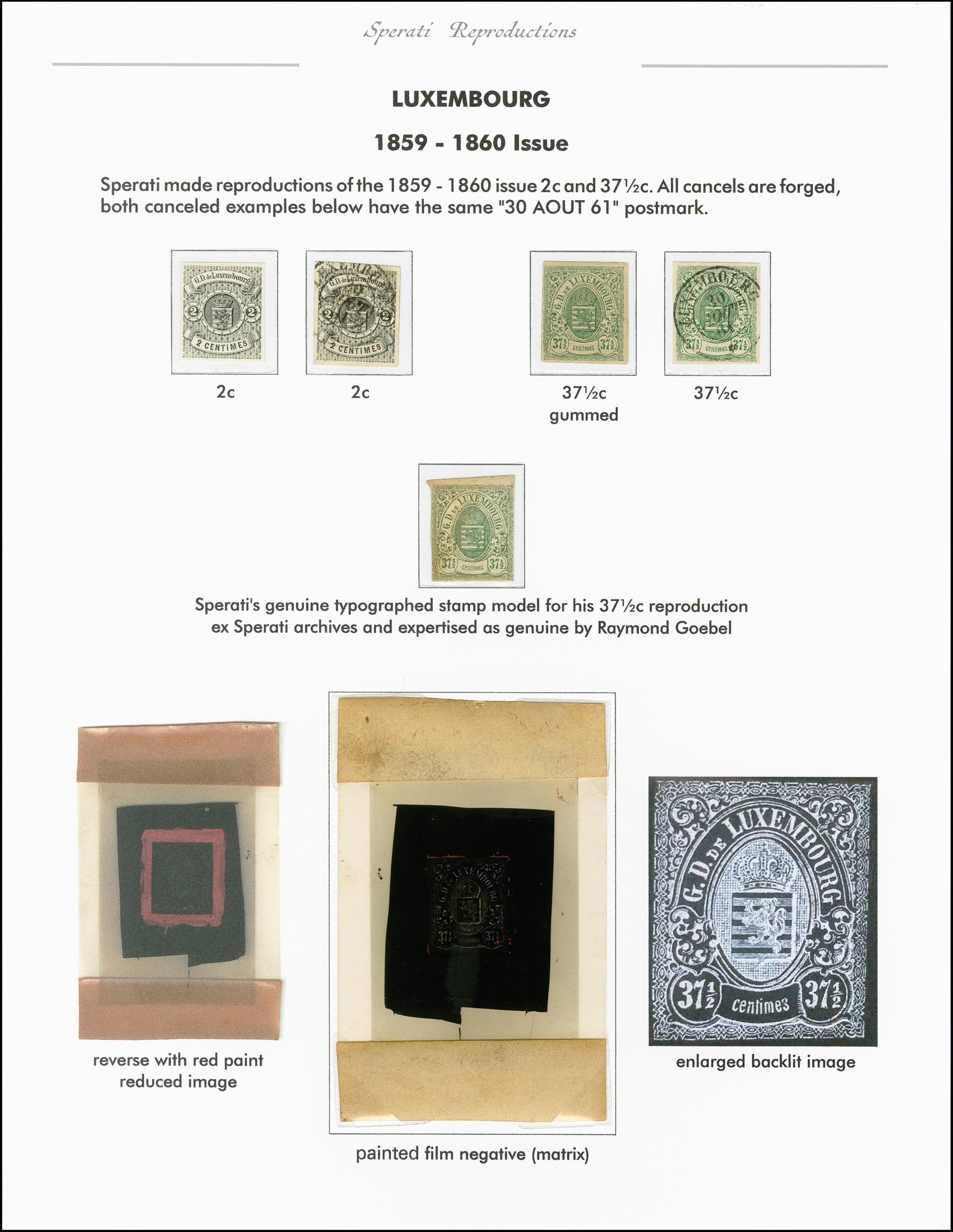 Lot 2205 - europa luxemburg -  Heinrich Koehler Auktionen 375rd Heinrich Köhler auction - Day 1