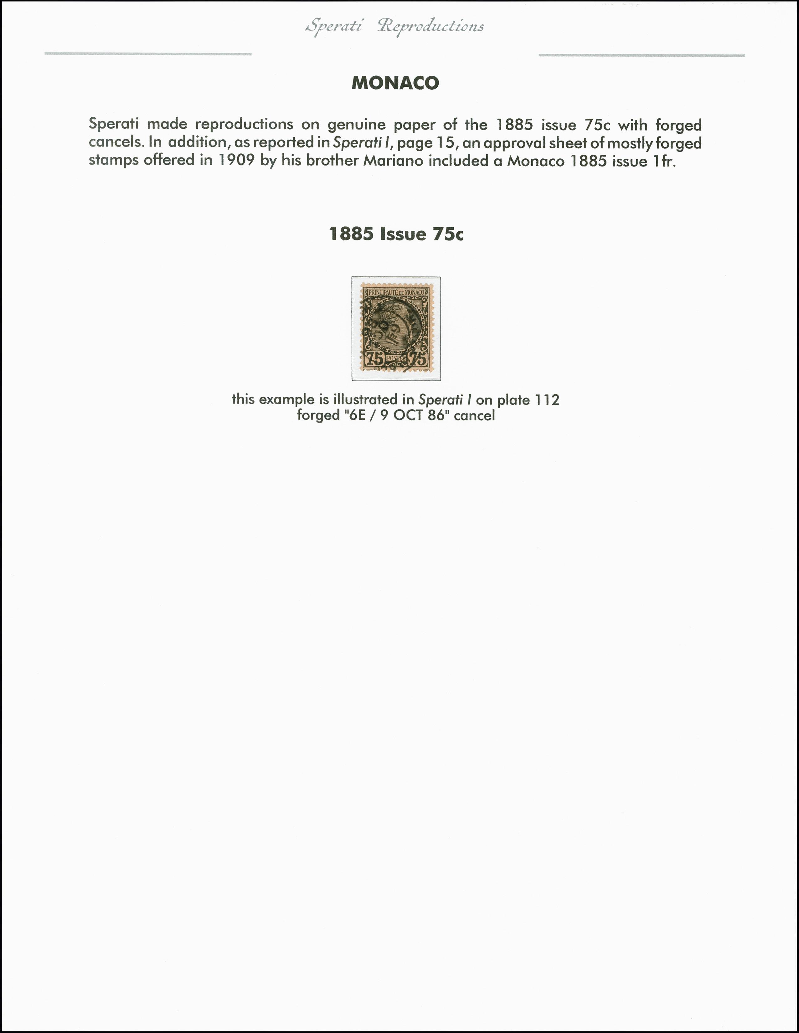 Lot 2206 - europa Monaco -  Heinrich Koehler Auktionen 375rd Heinrich Köhler auction - Day 1