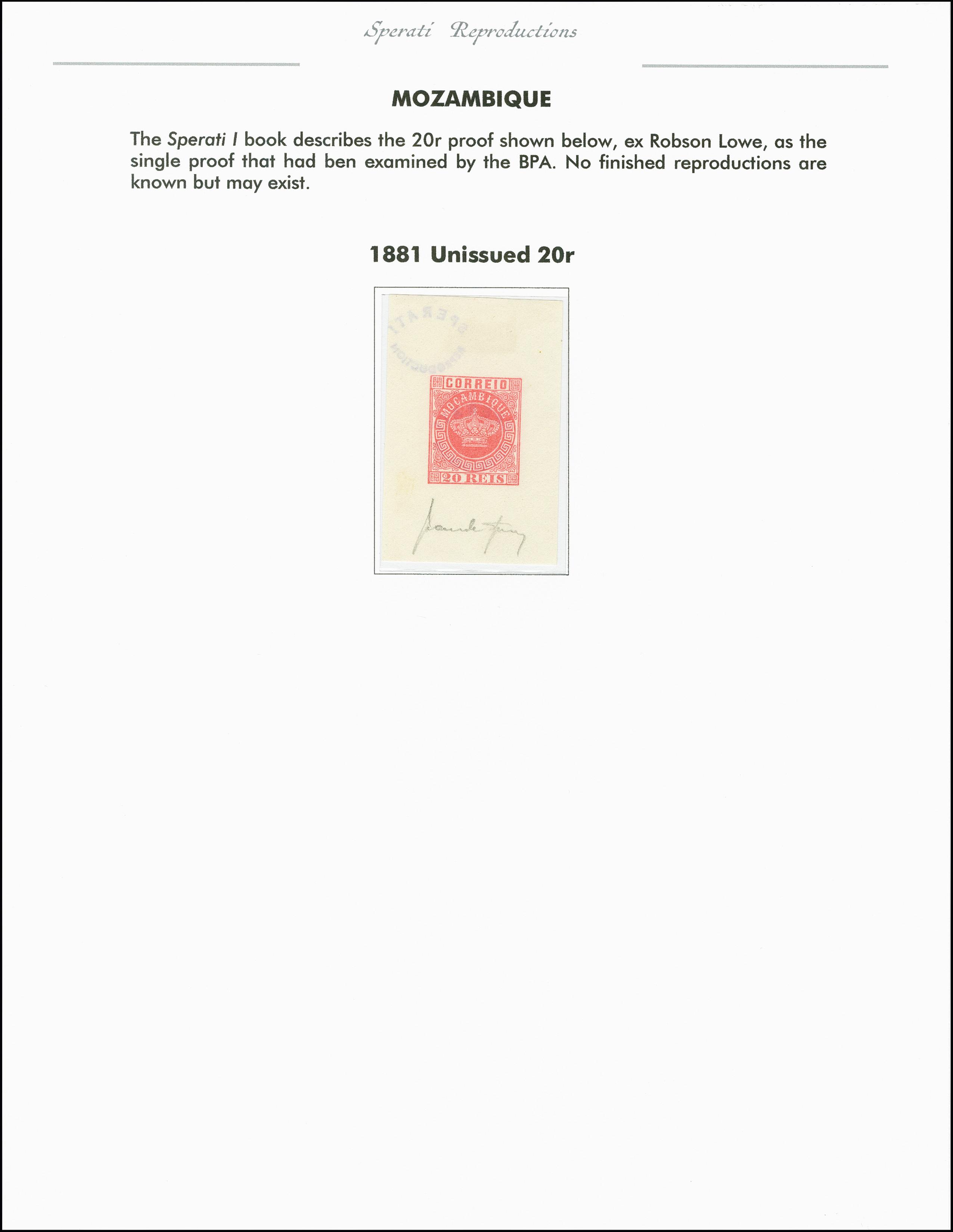 Lot 2208 - portugiesische kolonien mocambique -  Heinrich Koehler Auktionen 375rd Heinrich Köhler auction - Day 1