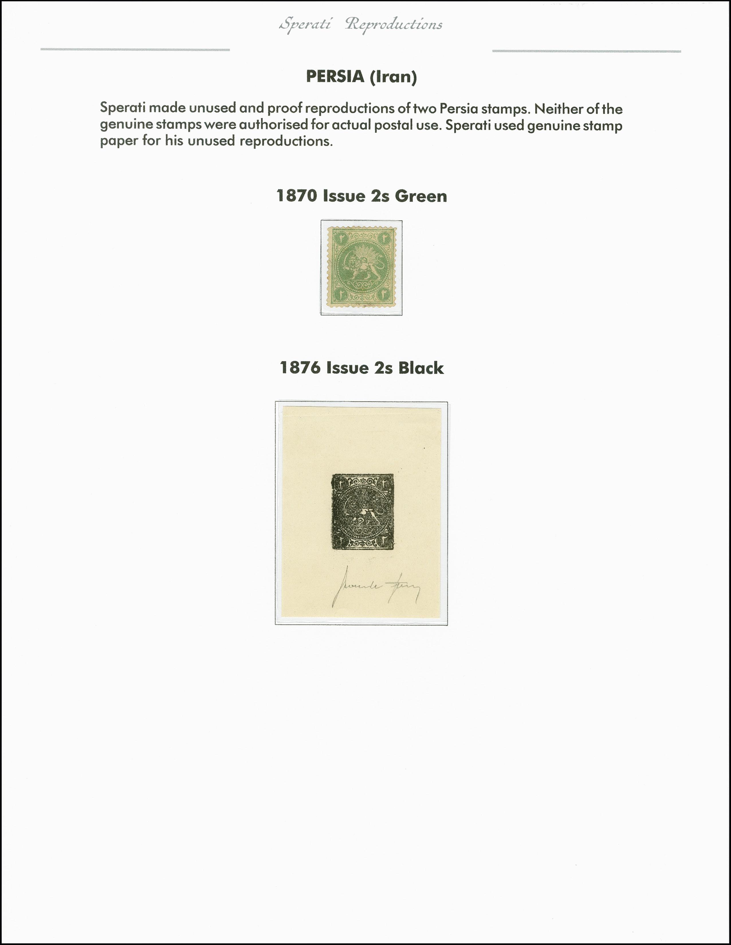 Lot 2227 - übersee iran -  Heinrich Koehler Auktionen 375rd Heinrich Köhler auction - Day 1