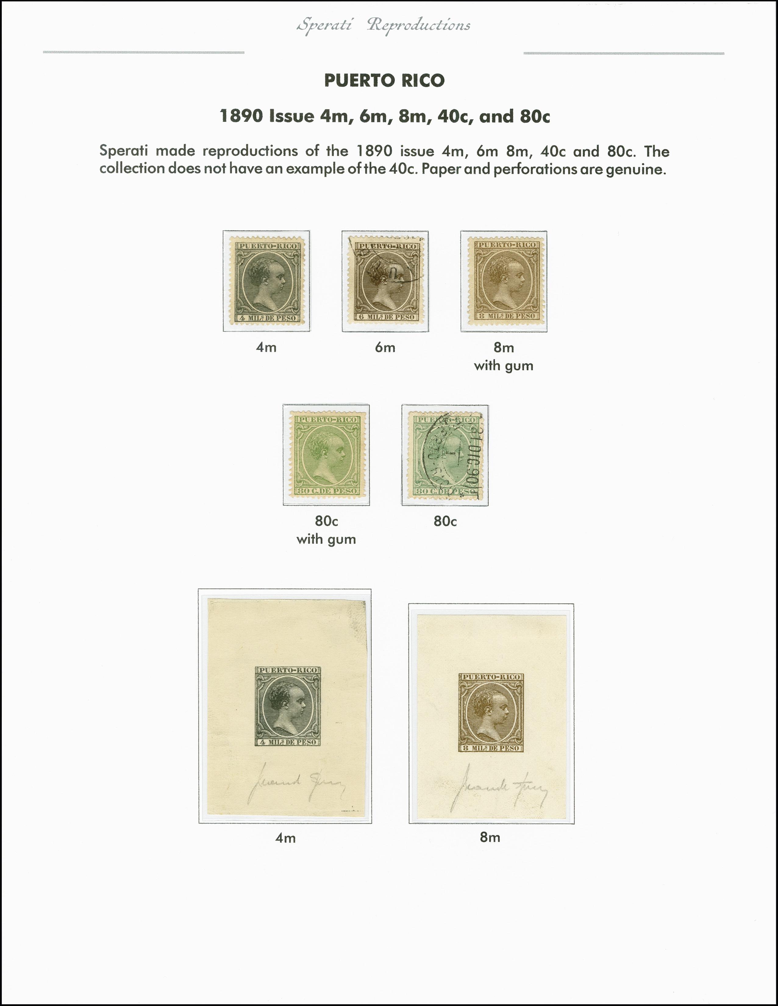 Lot 2216 - spanische kolonien Puerto Rico -  Heinrich Koehler Auktionen 375rd Heinrich Köhler auction - Day 1