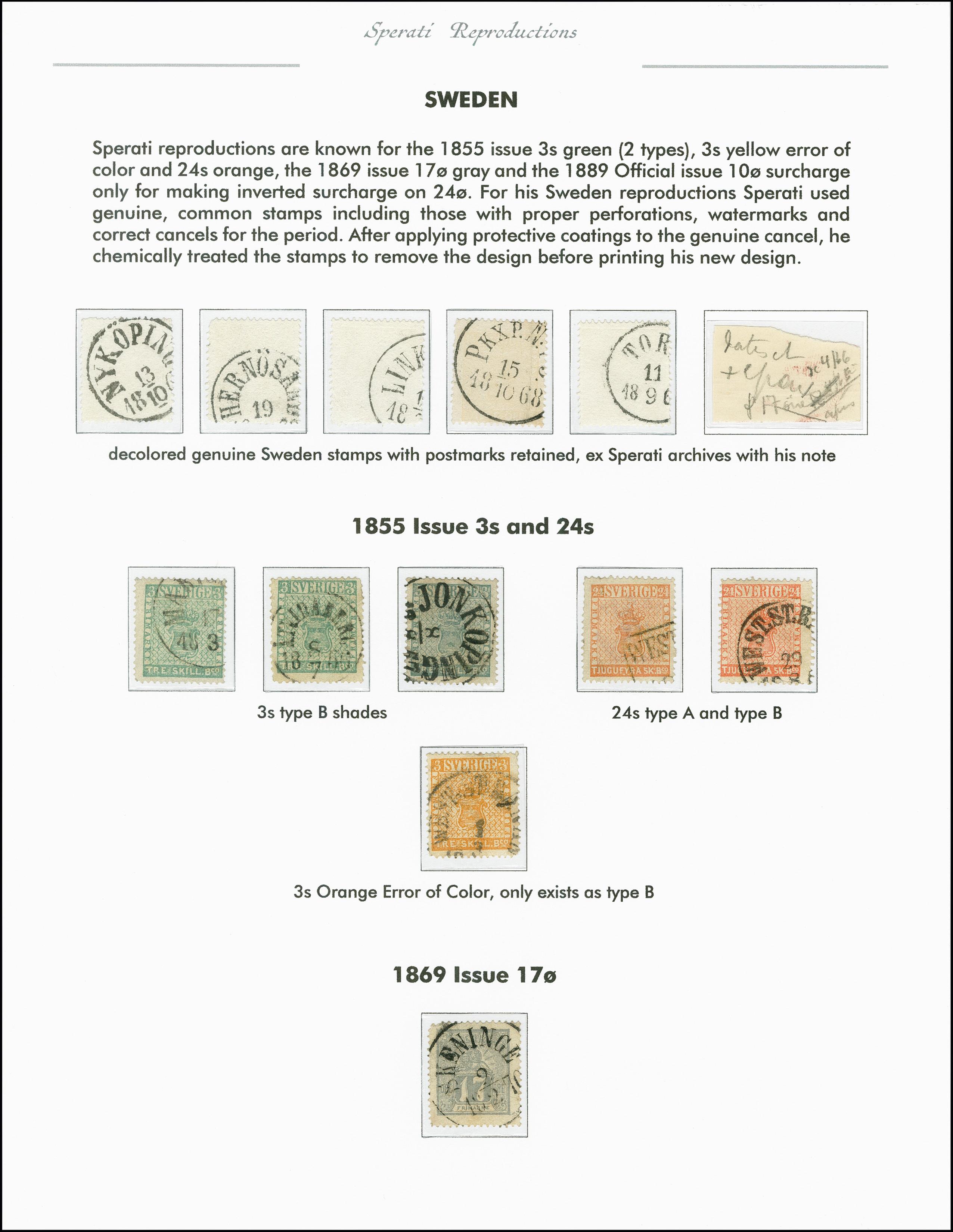 Lot 2219 - europa Sweden -  Heinrich Koehler Auktionen 375rd Heinrich Köhler auction - Day 1