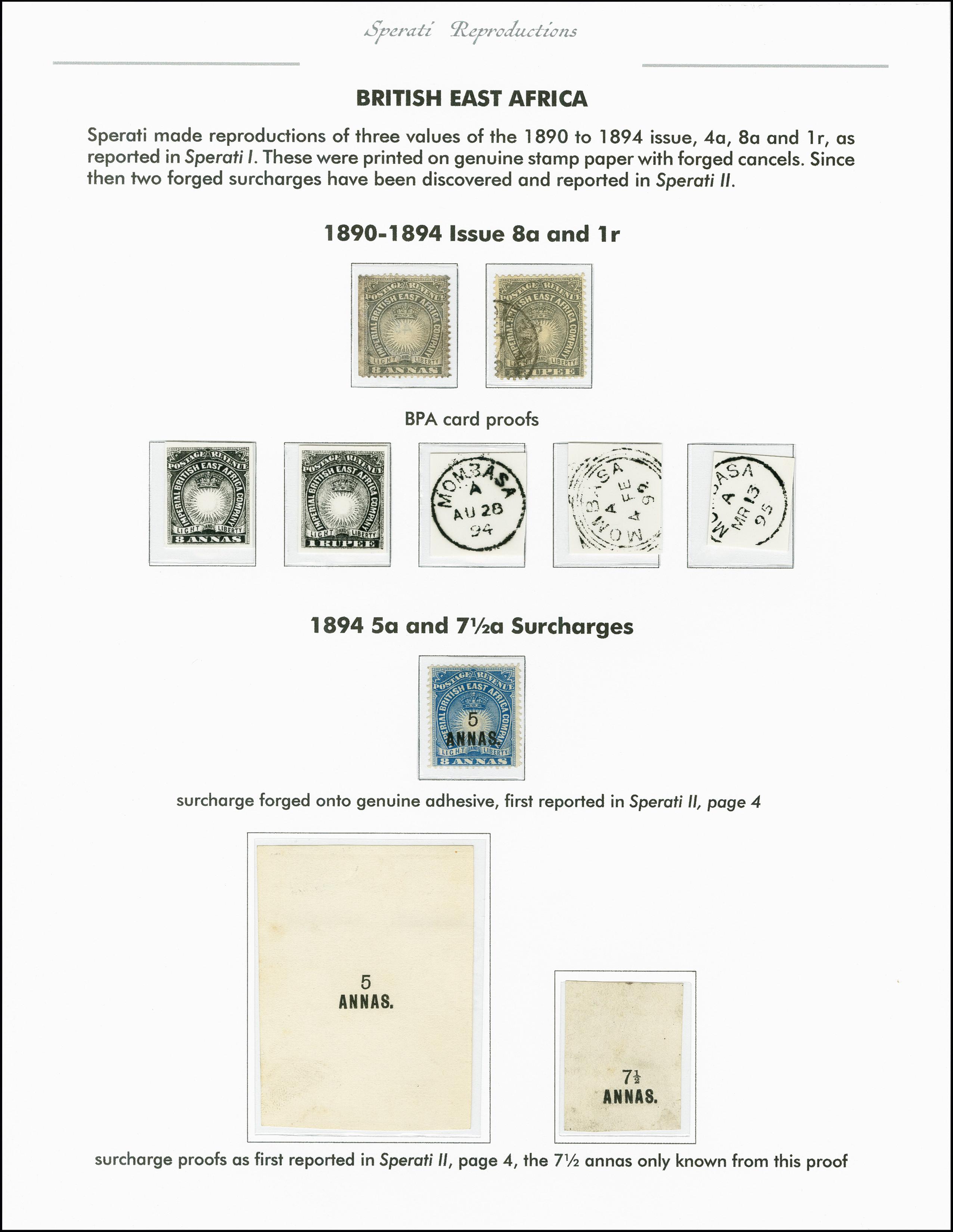 Lot 2257 - Britisch Commonwealth Kenya , Uganda and Tanganyika -  Heinrich Koehler Auktionen 375rd Heinrich Köhler auction - Day 1