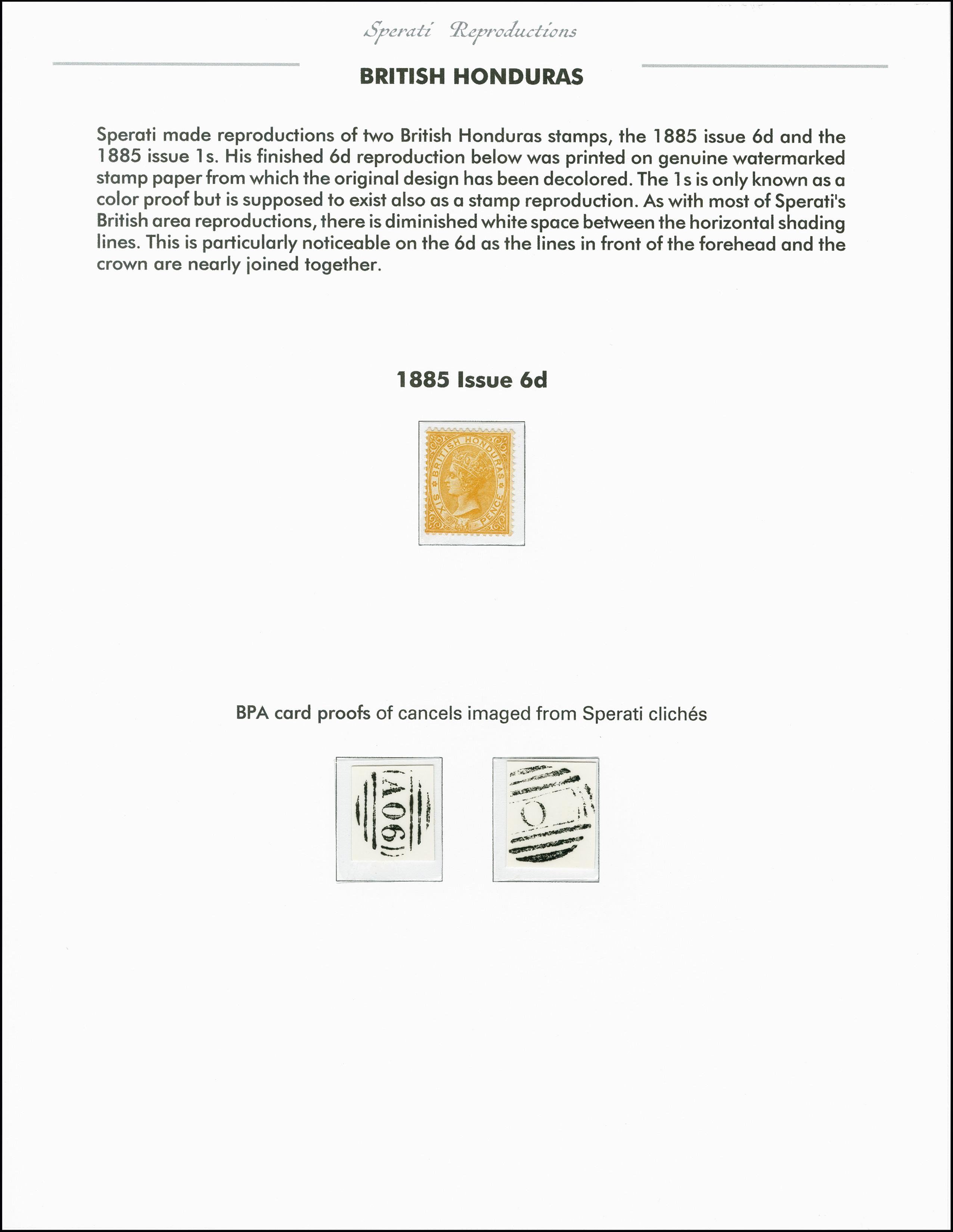 Lot 2246 - Britisch Commonwealth british honduras -  Heinrich Koehler Auktionen 375rd Heinrich Köhler auction - Day 1