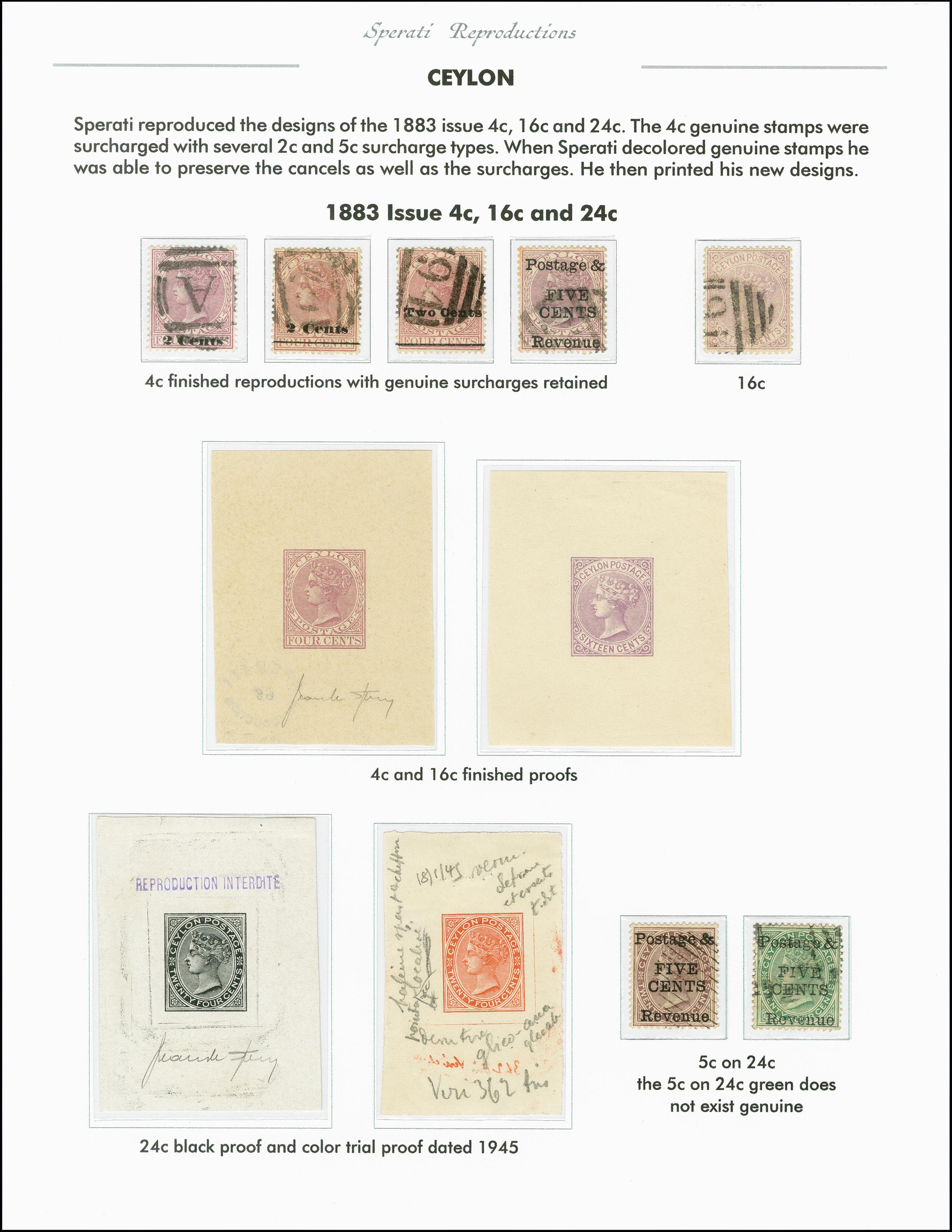 Lot 2251 - Britisch Commonwealth Ceylon -  Heinrich Koehler Auktionen 375rd Heinrich Köhler auction - Day 1