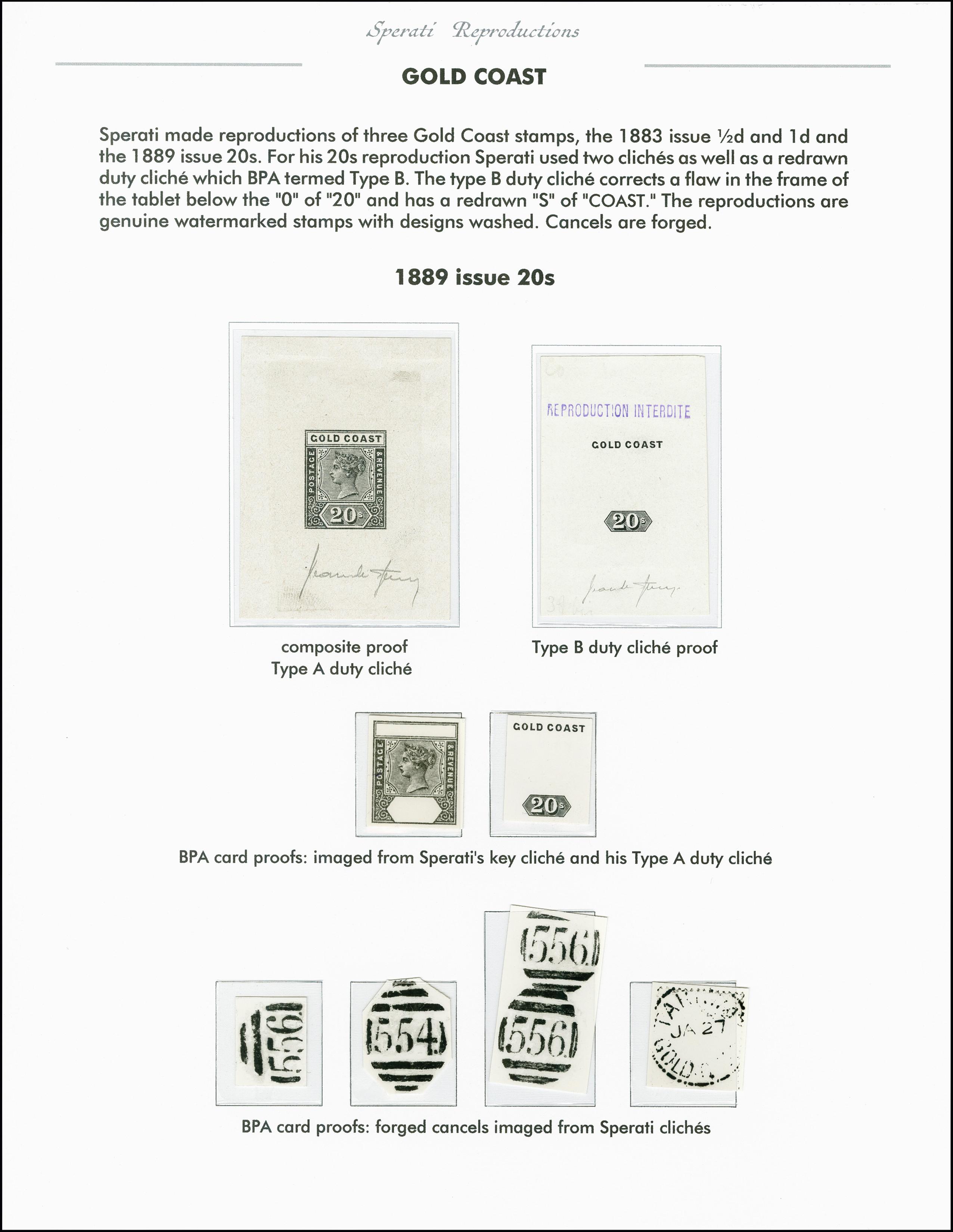 Lot 2254 - Britisch Commonwealth gold coast -  Heinrich Koehler Auktionen 375rd Heinrich Köhler auction - Day 1