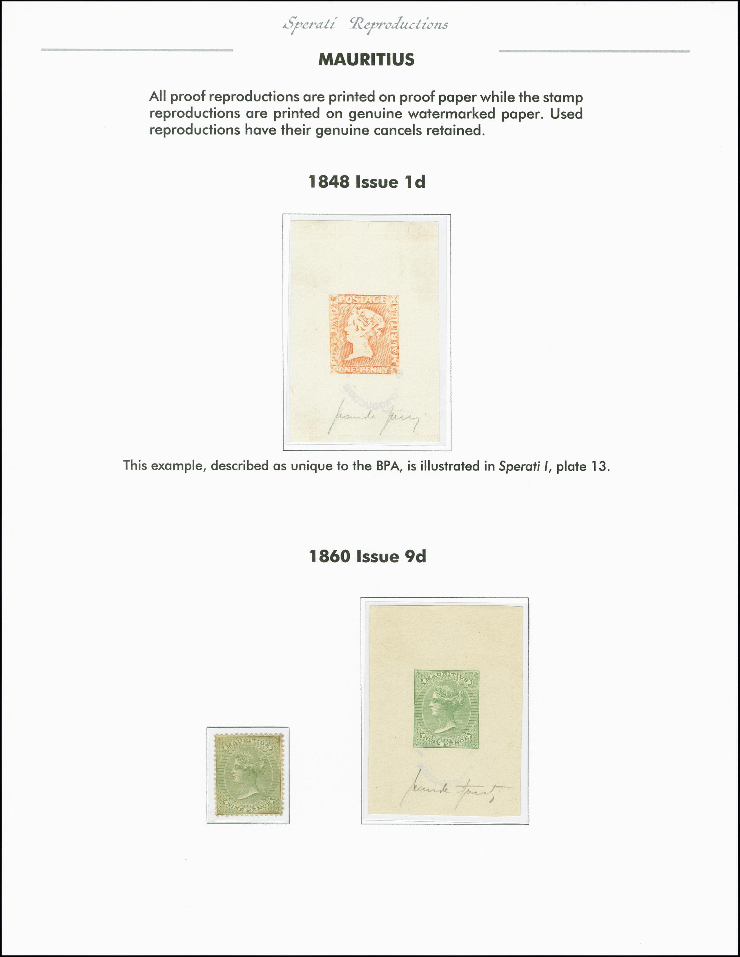 Lot 2259 - Britisch Commonwealth Mauritius -  Heinrich Koehler Auktionen 375rd Heinrich Köhler auction - Day 1