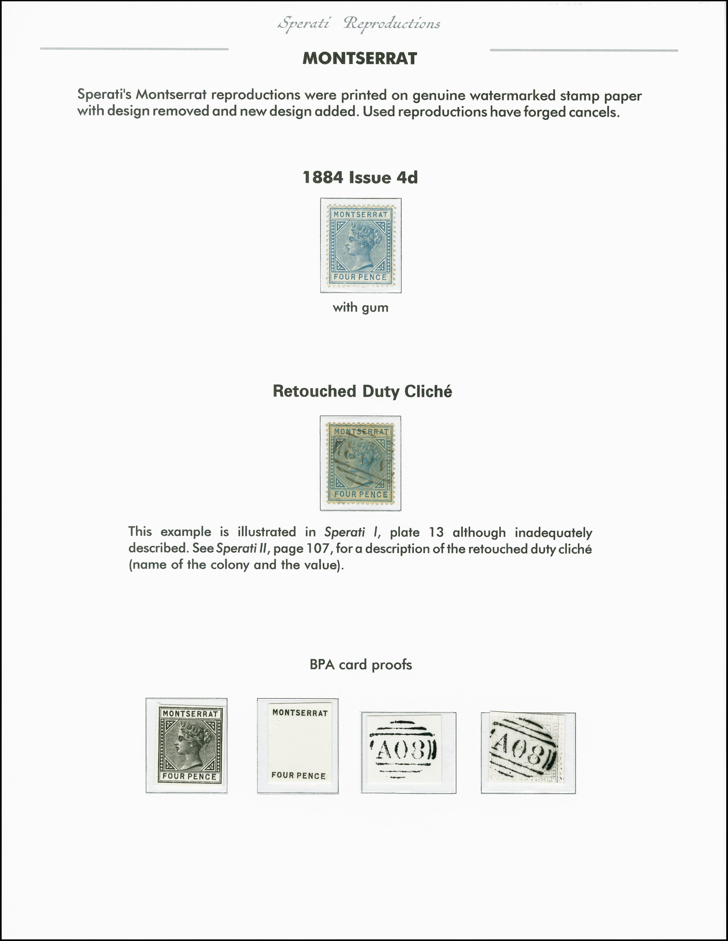 Lot 2260 - Britisch Commonwealth montserrat -  Heinrich Koehler Auktionen 375rd Heinrich Köhler auction - Day 1