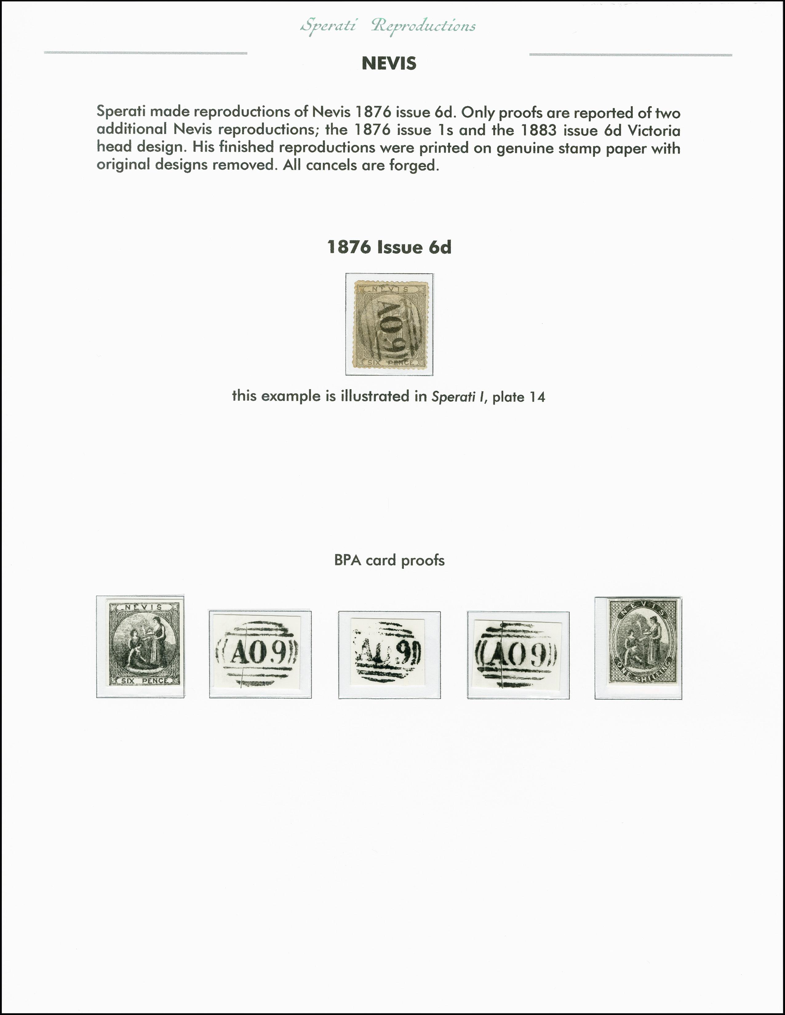 Lot 2264 - Britisch Commonwealth nevis -  Heinrich Koehler Auktionen 375rd Heinrich Köhler auction - Day 1