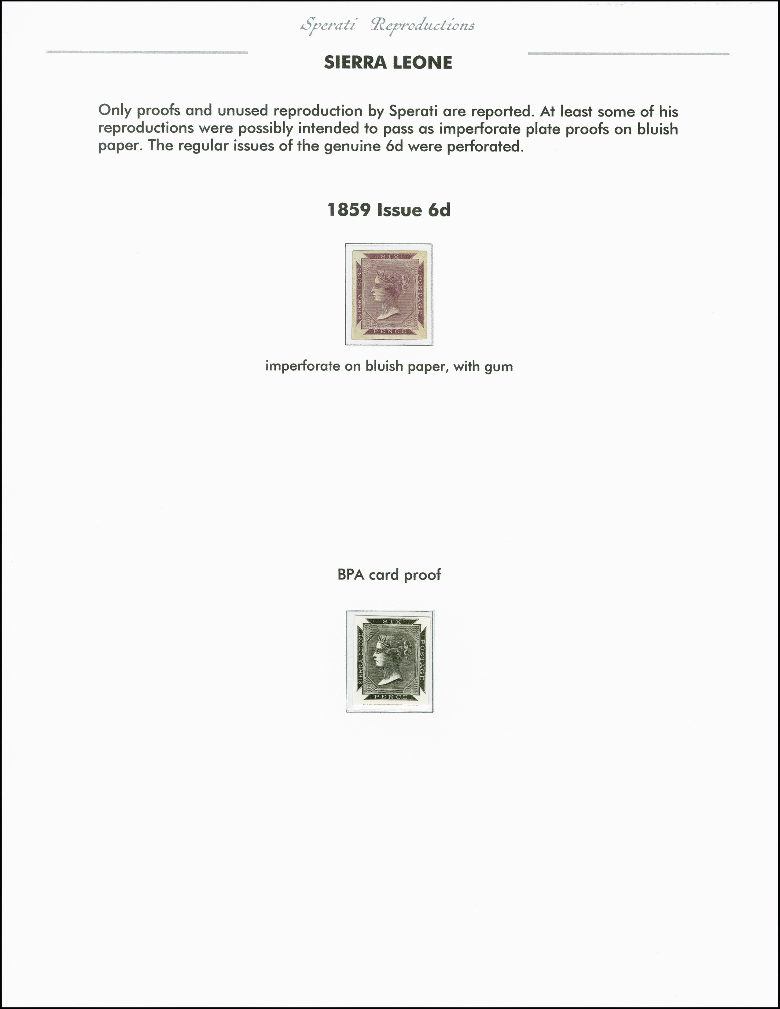 Lot 2266 - Britisch Commonwealth sierra leone -  Heinrich Koehler Auktionen 375rd Heinrich Köhler auction - Day 1